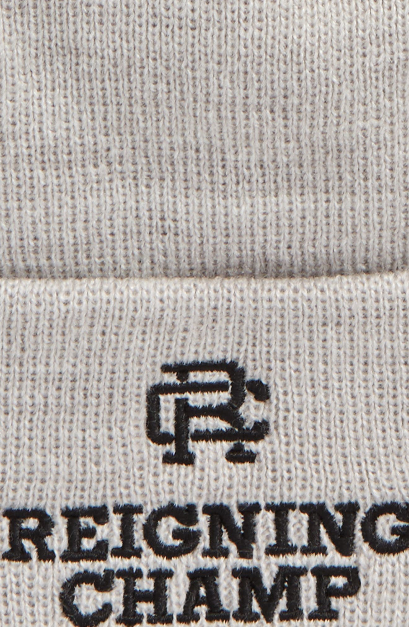 Alternate Image 2  - Reigning Champ Embroidered Knit Cap