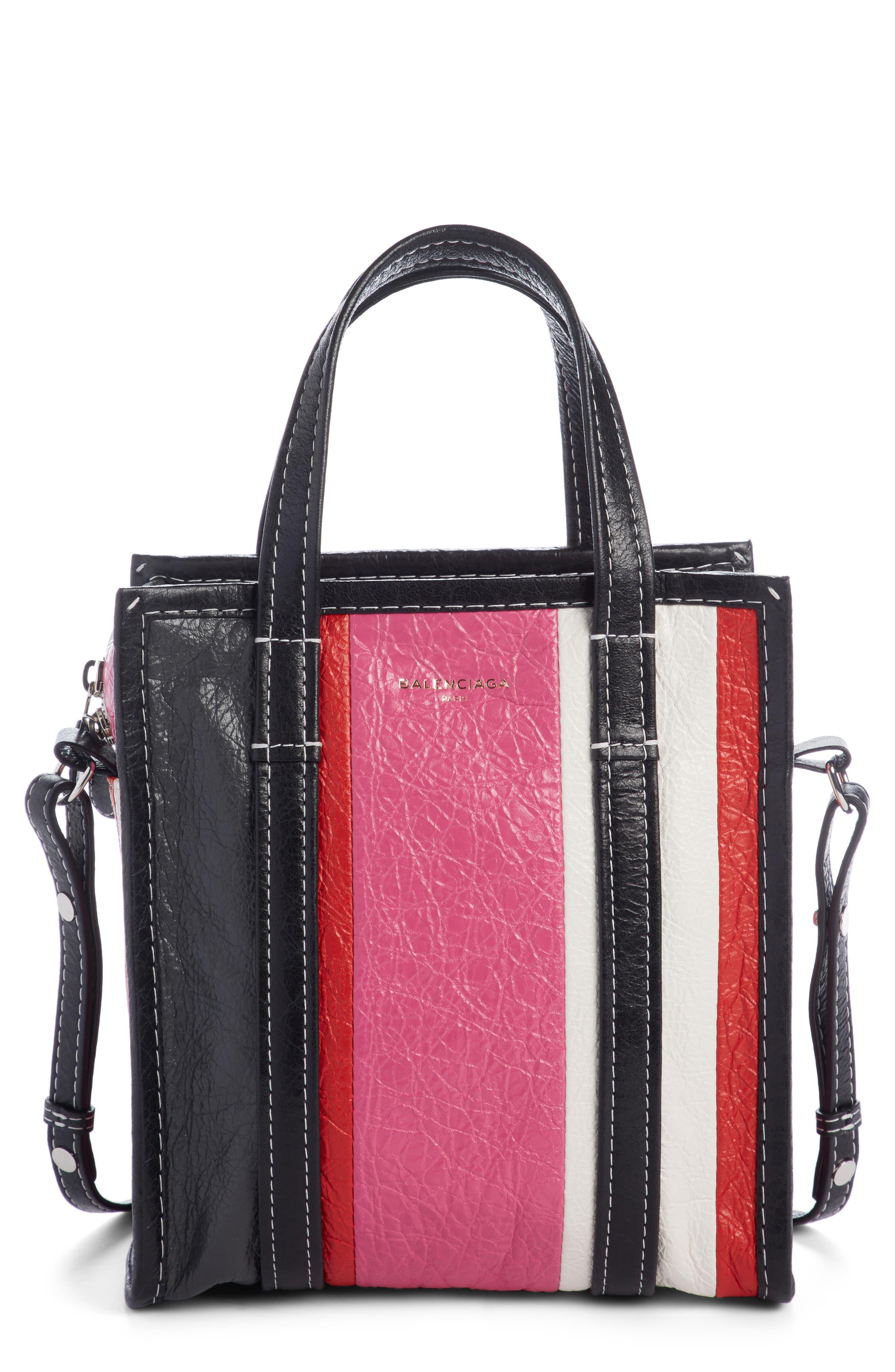 Alternate Image 1 Selected - Balenciaga Extra Small Bazaar Leather Shopper
