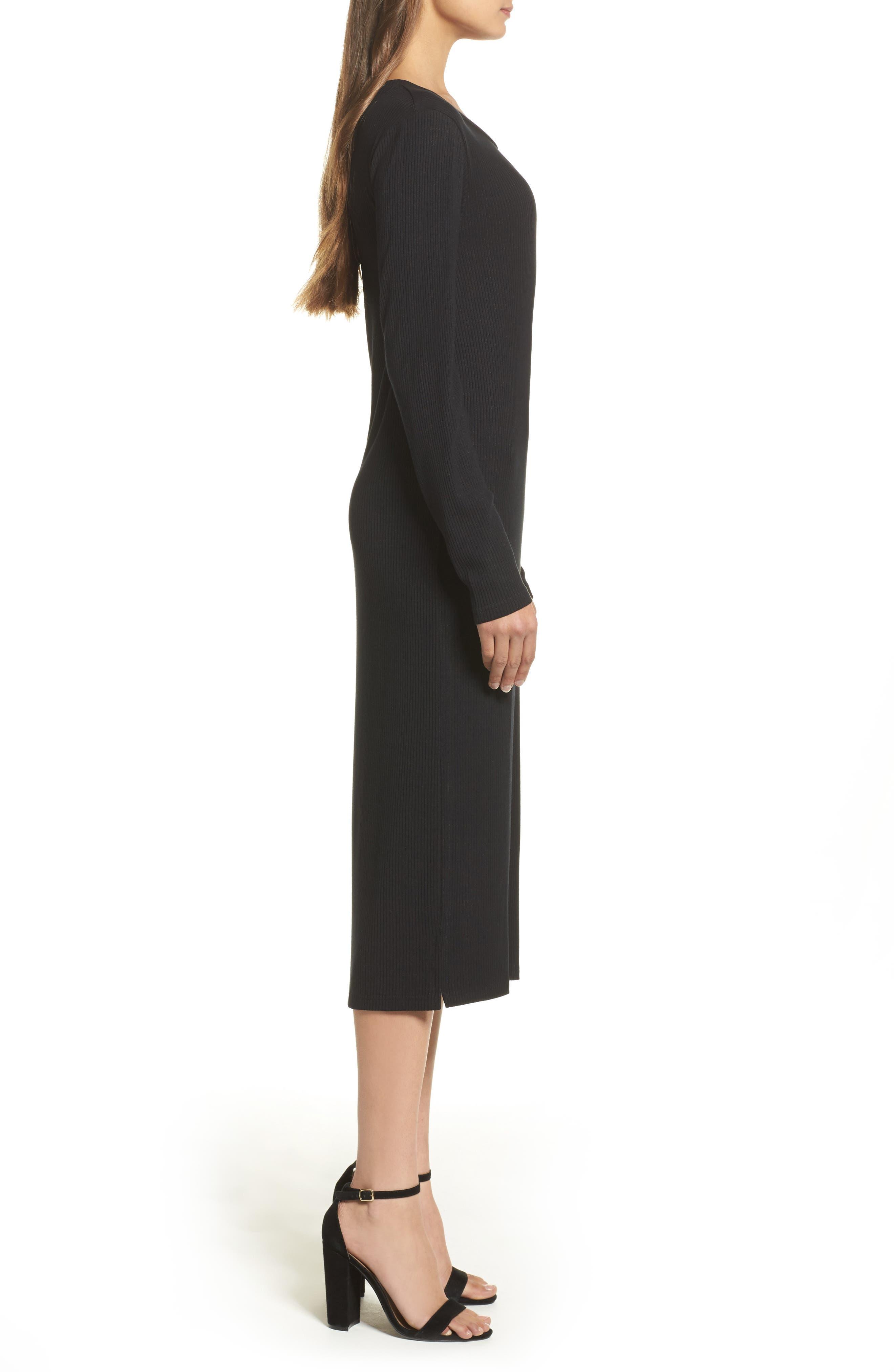 Alternate Image 3  - Knot Sisters Midi Dress