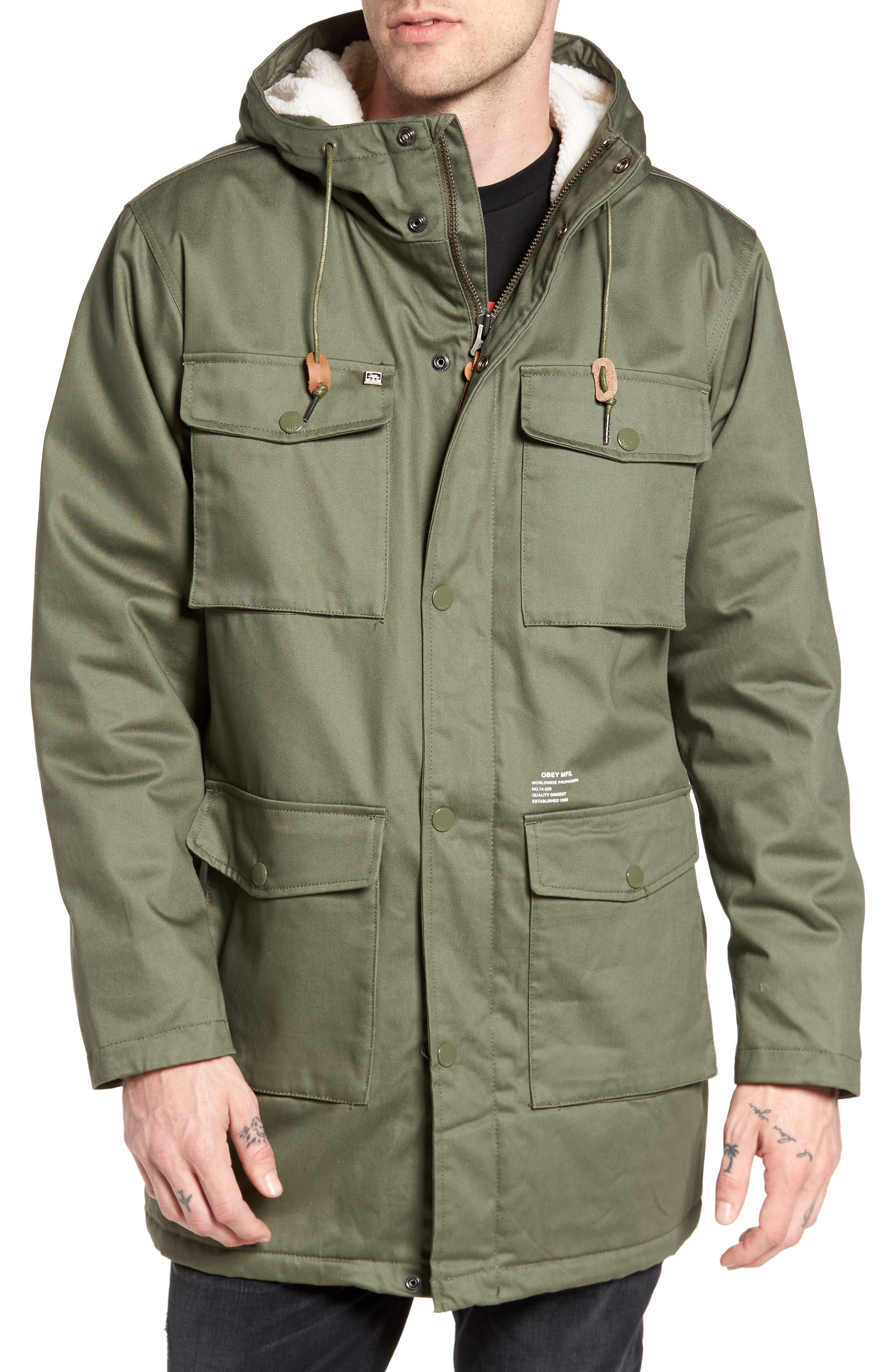 Heller II Jacket,                             Alternate thumbnail 4, color,                             Army