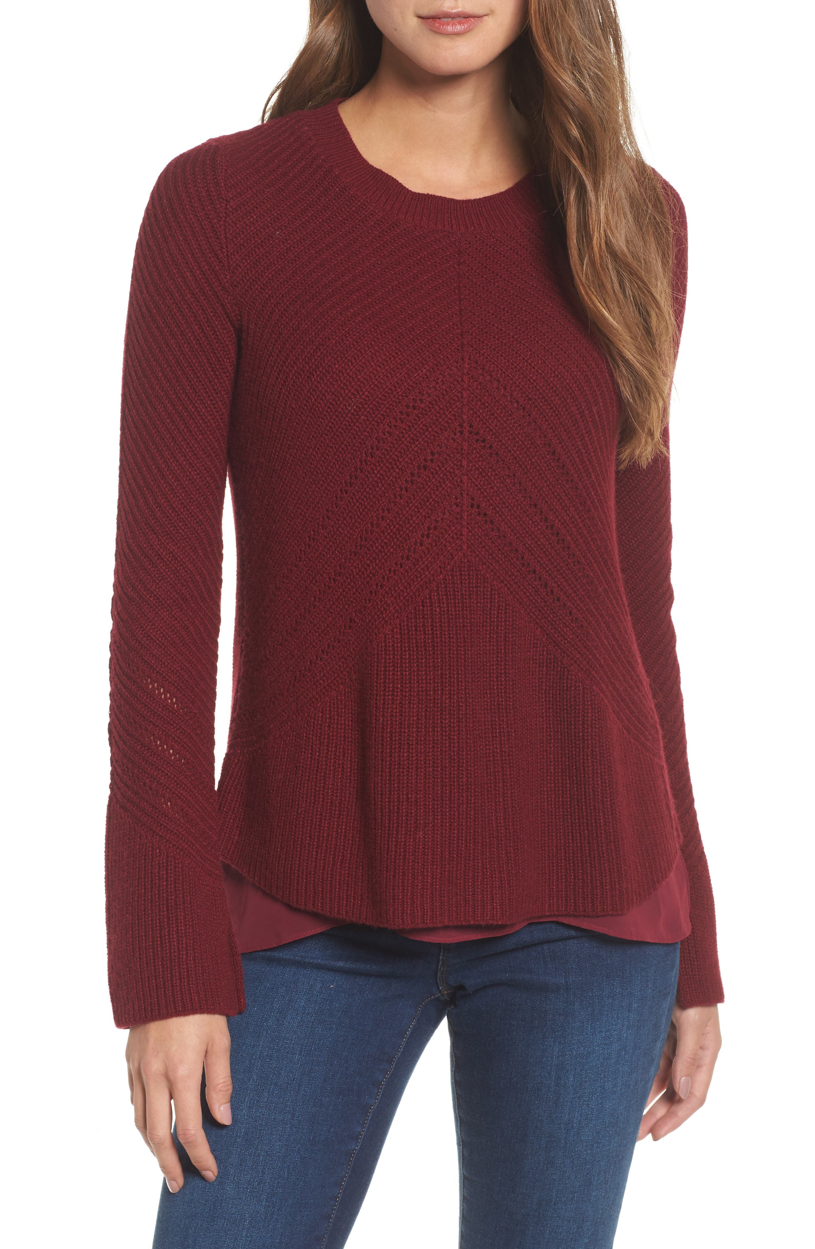Lucky Brand Nico Knit Pullover