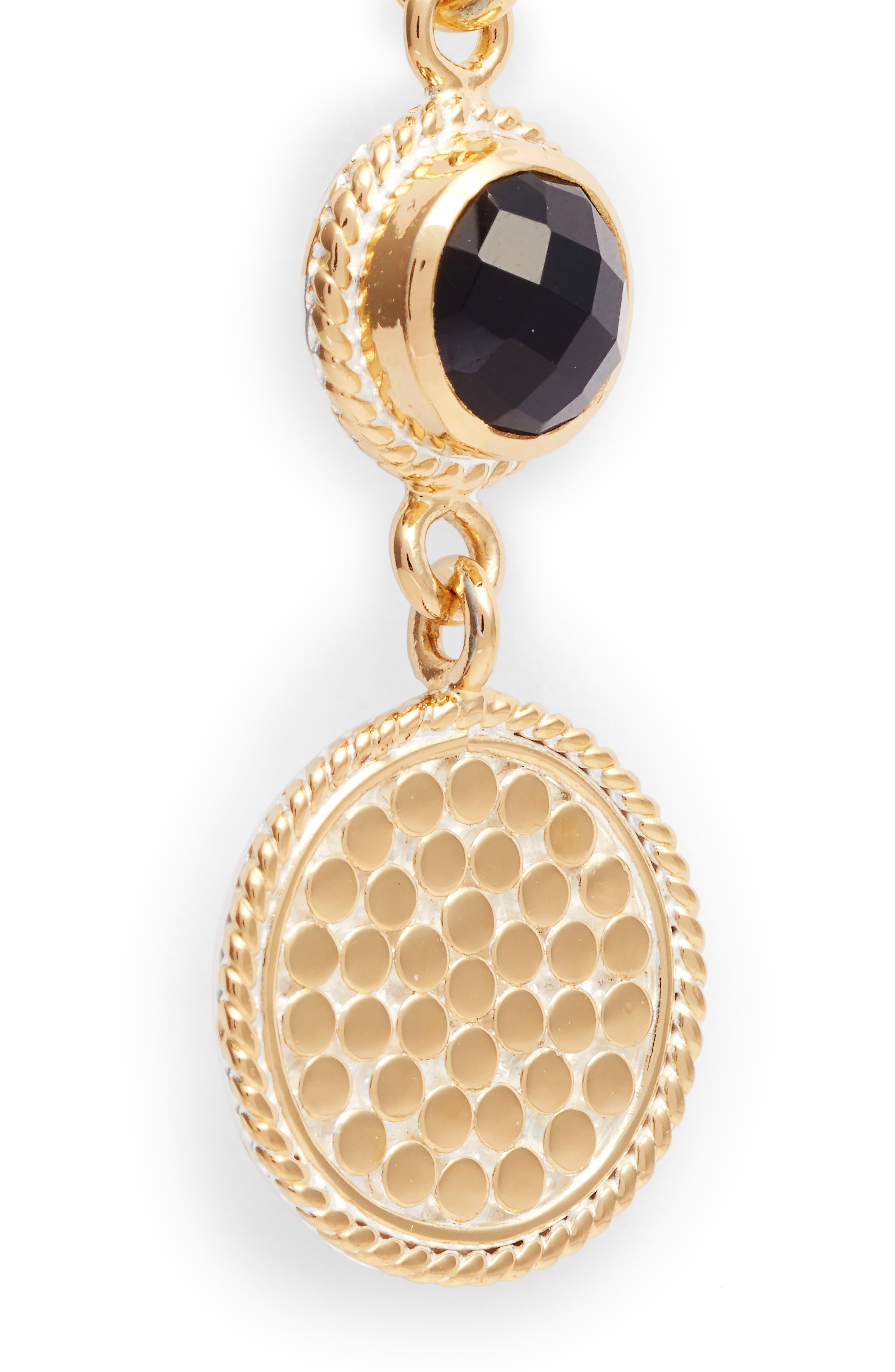 Alternate Image 5  - Anna Beck Semiprecious Stone Double Drop Earrings