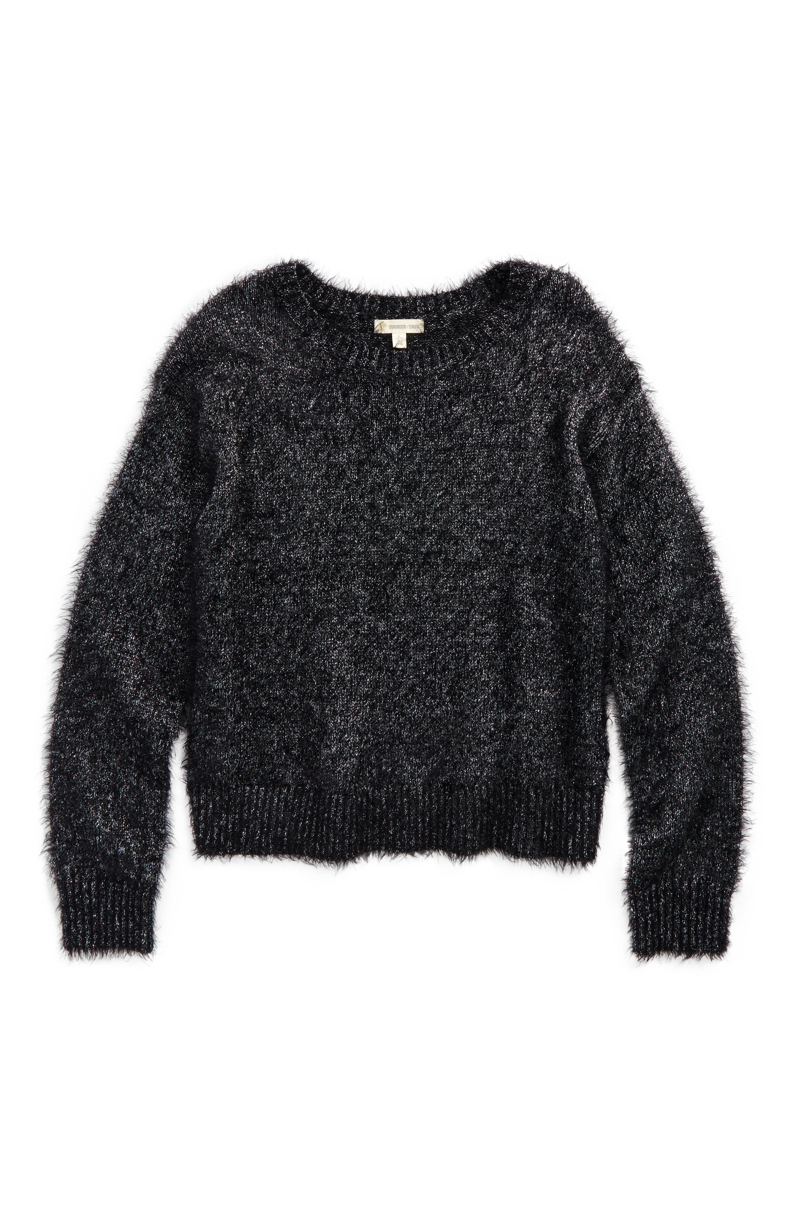 Tucker + Tate Sparkle Sweater (Big Girls)