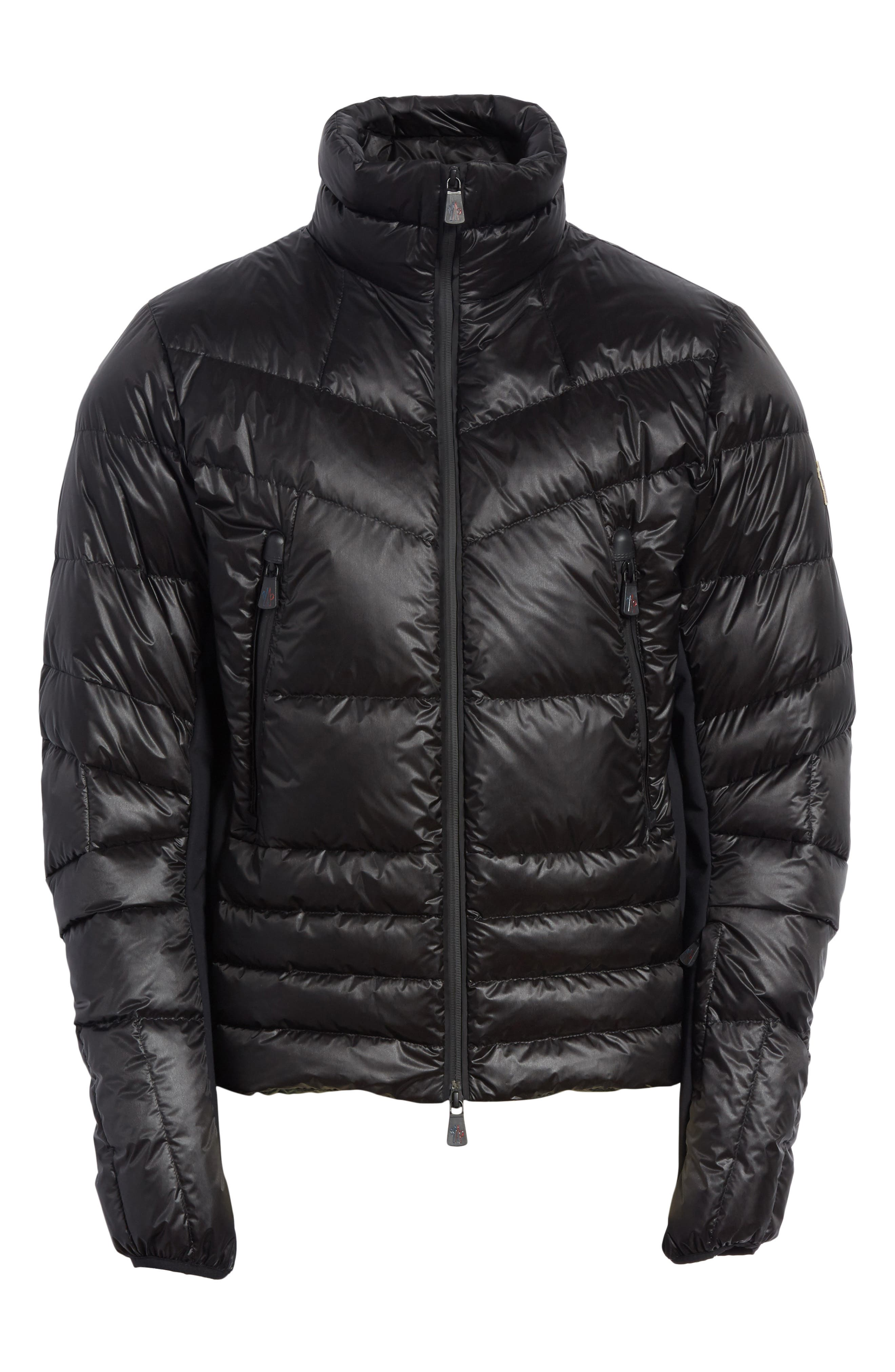 Grenoble Canmore Down Jacket,                             Alternate thumbnail 6, color,                             Black