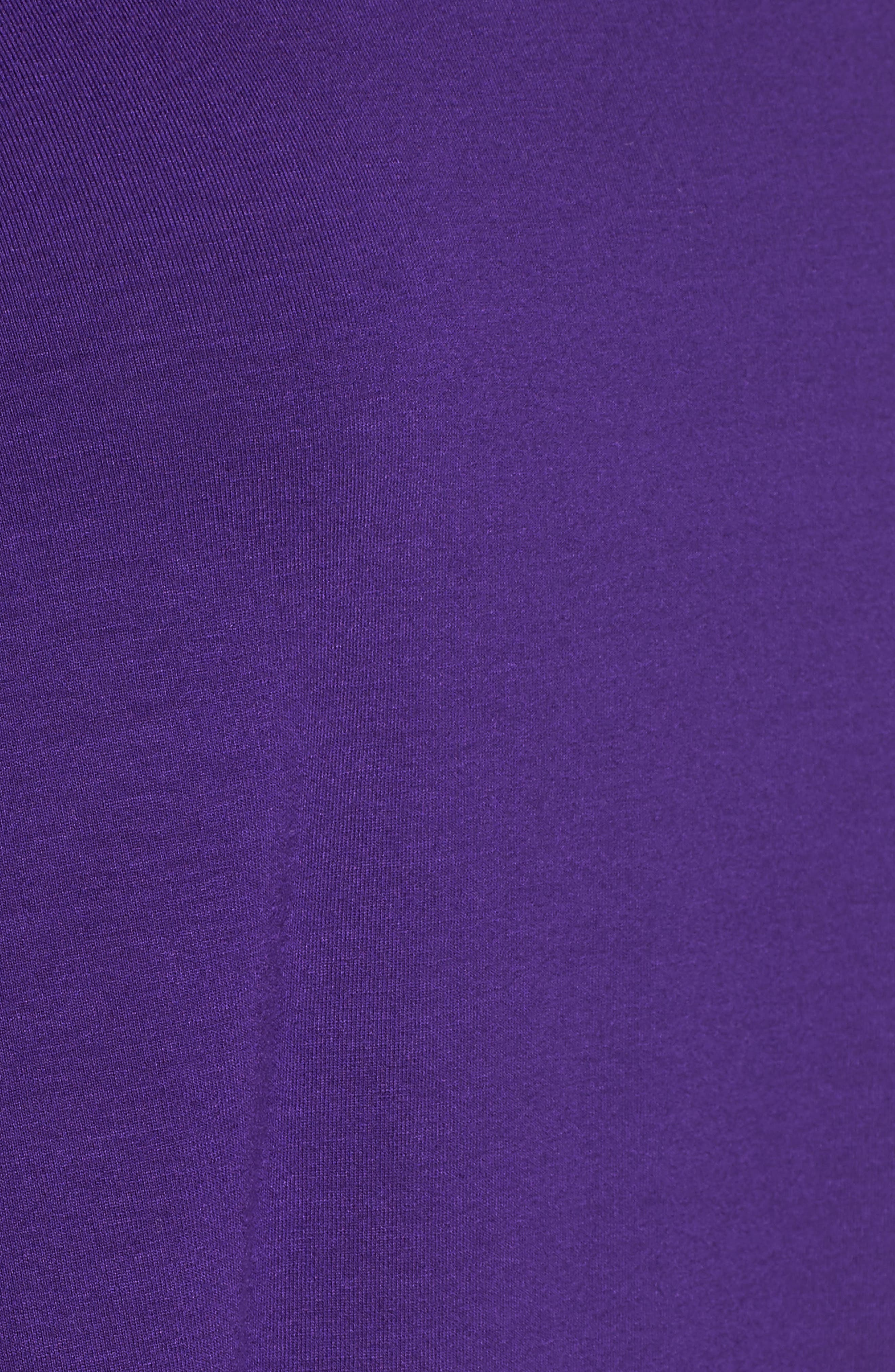 Tiered Handkerchief Hem Tunic,                             Alternate thumbnail 5, color,                             Ultraviolet