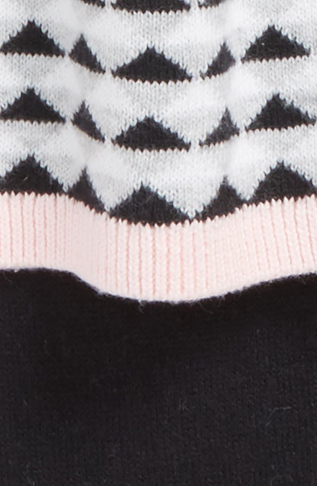 Alternate Image 2  - Nordstrom Baby Hooded Sweater Dress & Leggings Set (Baby Girls)