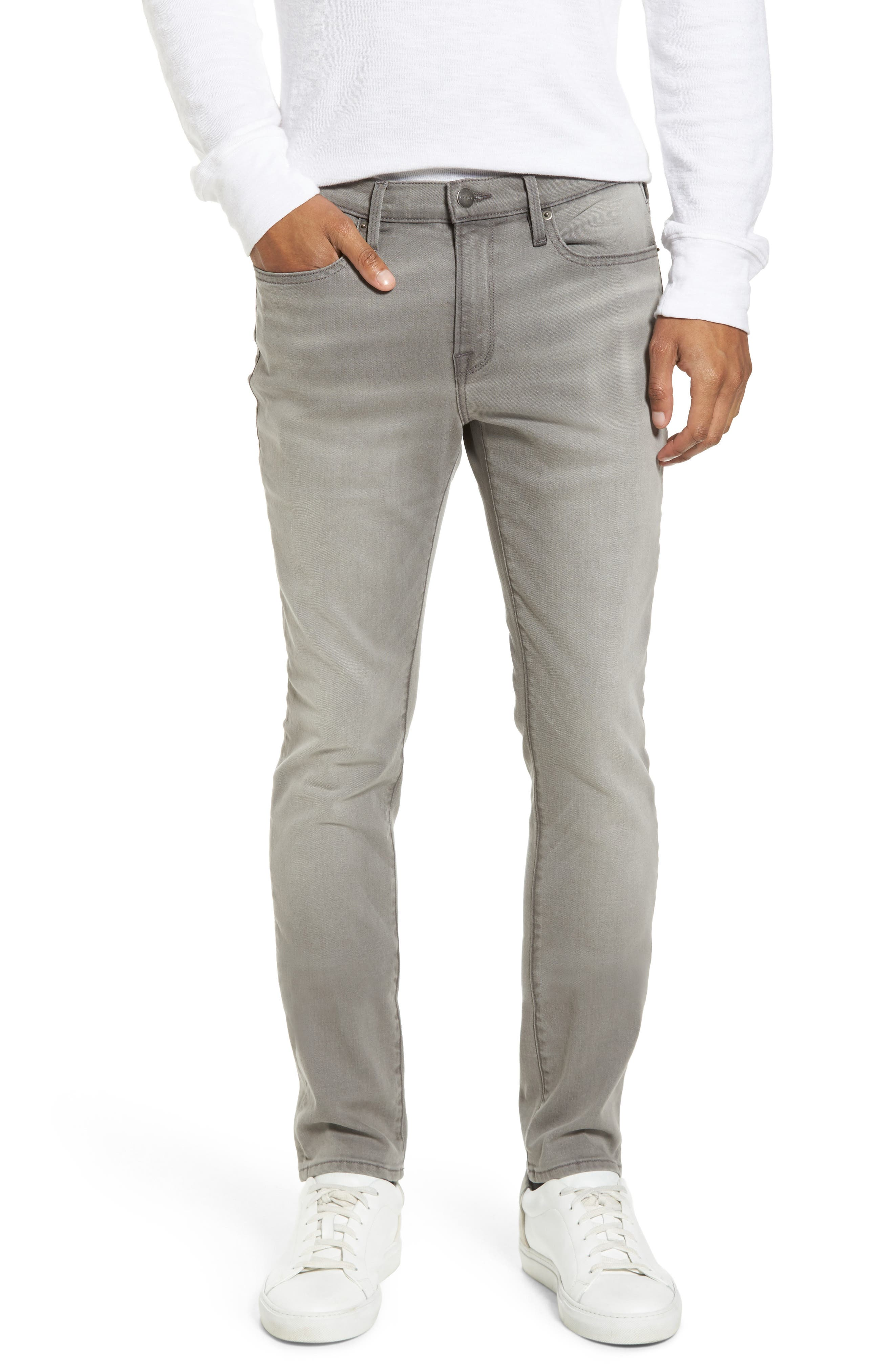 Alternate Image 1 Selected - FRAME L'Homme Slim Fit Jeans (Vineway)