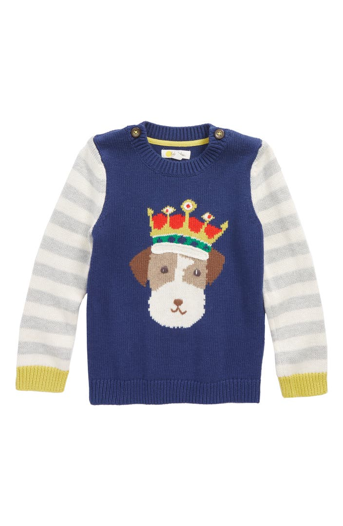 Mini boden fun knit sweater baby boys toddler boys for Shop mini boden