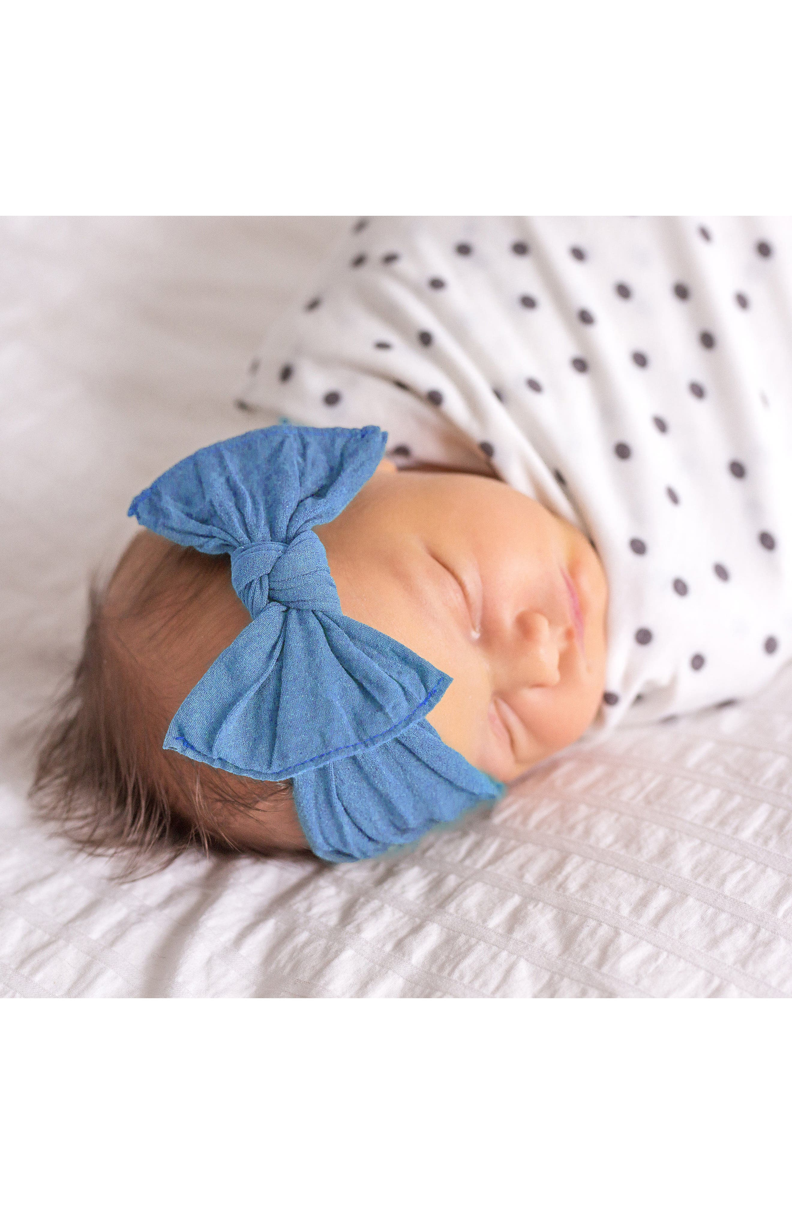 Alternate Image 3  - Baby Bling 3-Pack Knotted Headbands (Baby)
