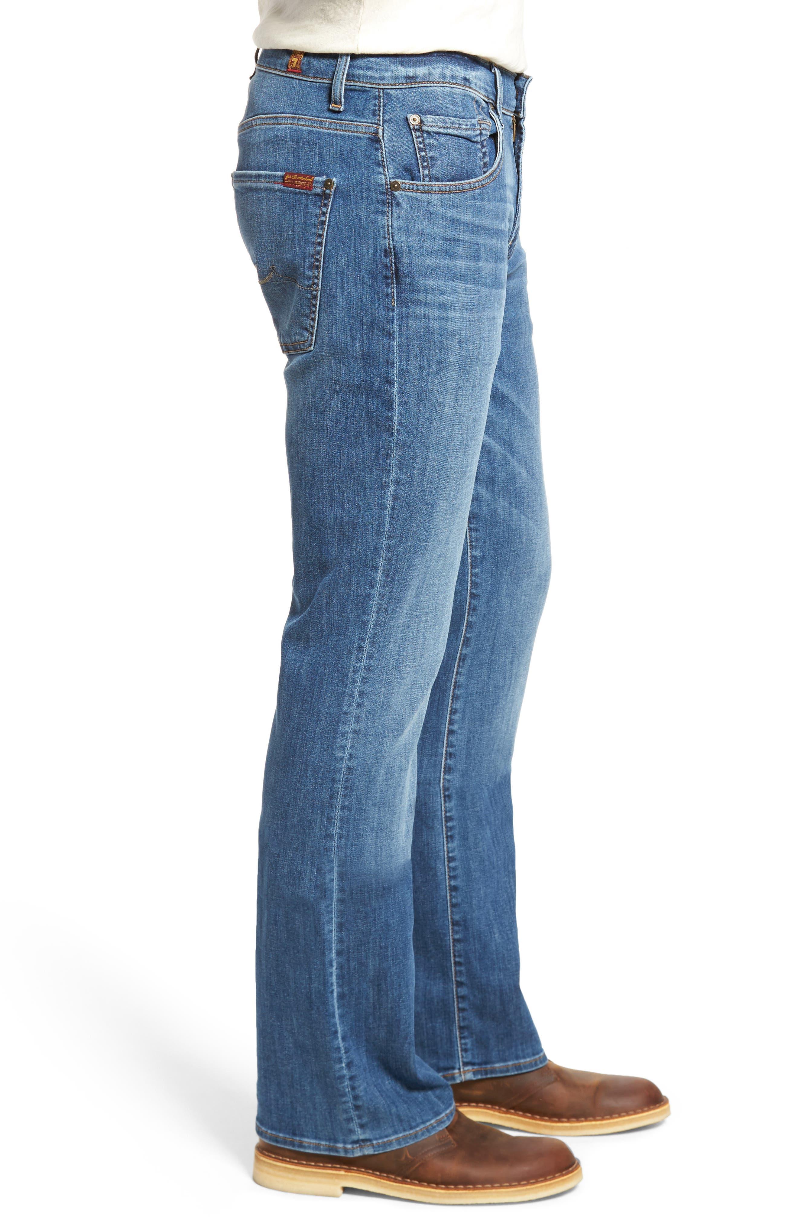 Brett Bootcut Jeans,                             Alternate thumbnail 3, color,                             Aurora