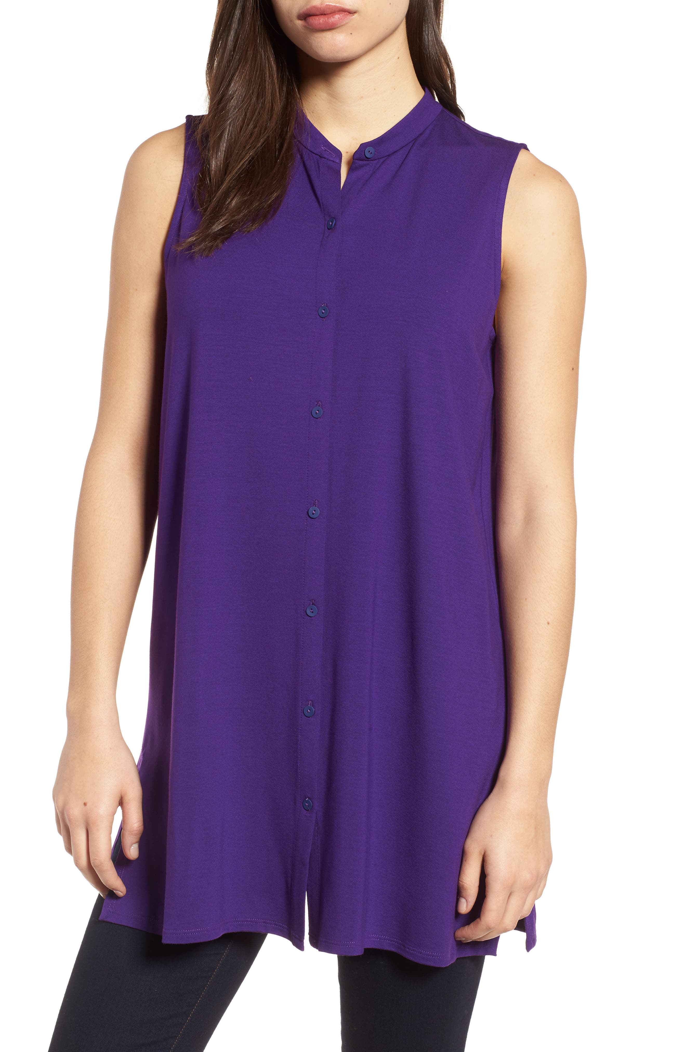 Jersey Tunic,                         Main,                         color, Ultraviolet