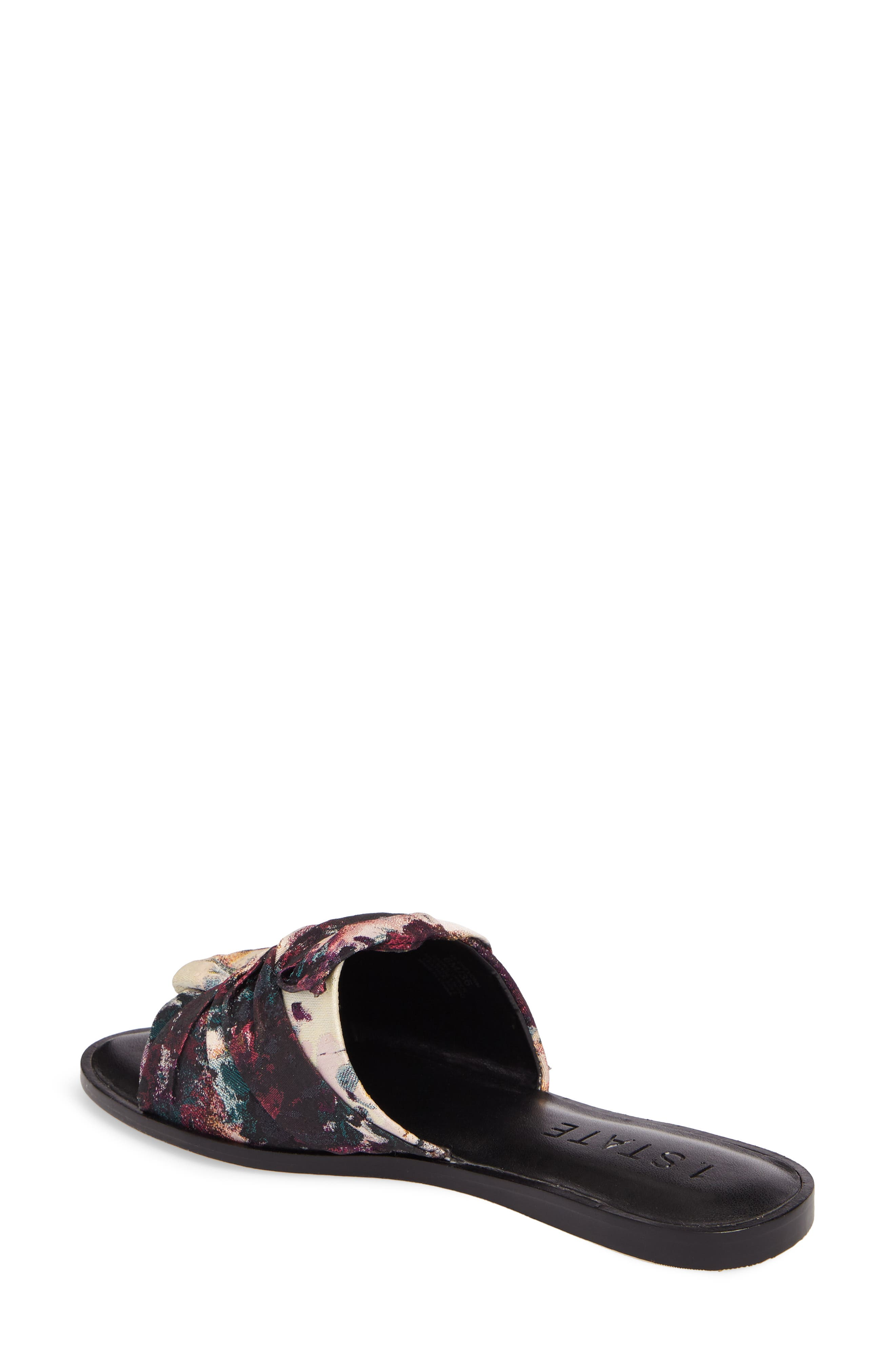 Chevonn Slide Sandal,                             Alternate thumbnail 2, color,                             Floral Print