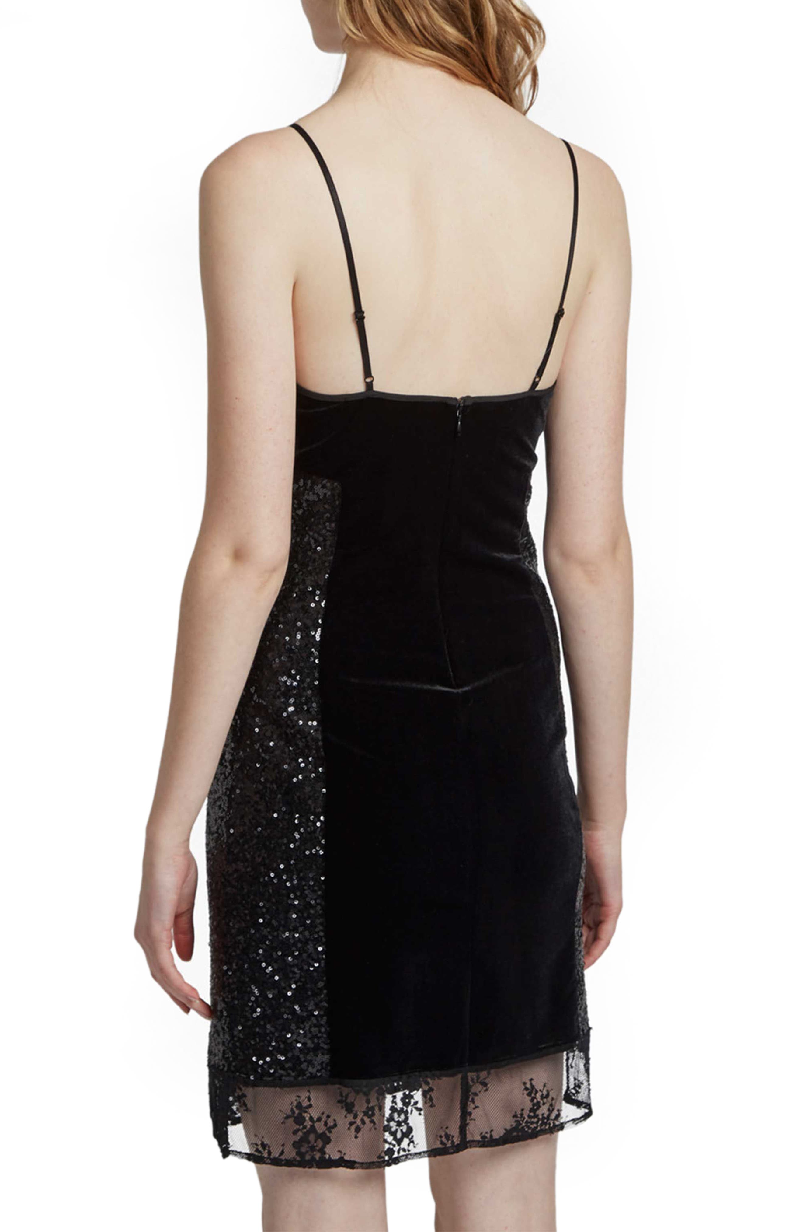 Alternate Image 2  - French Connection Iris Sequin Slipdress