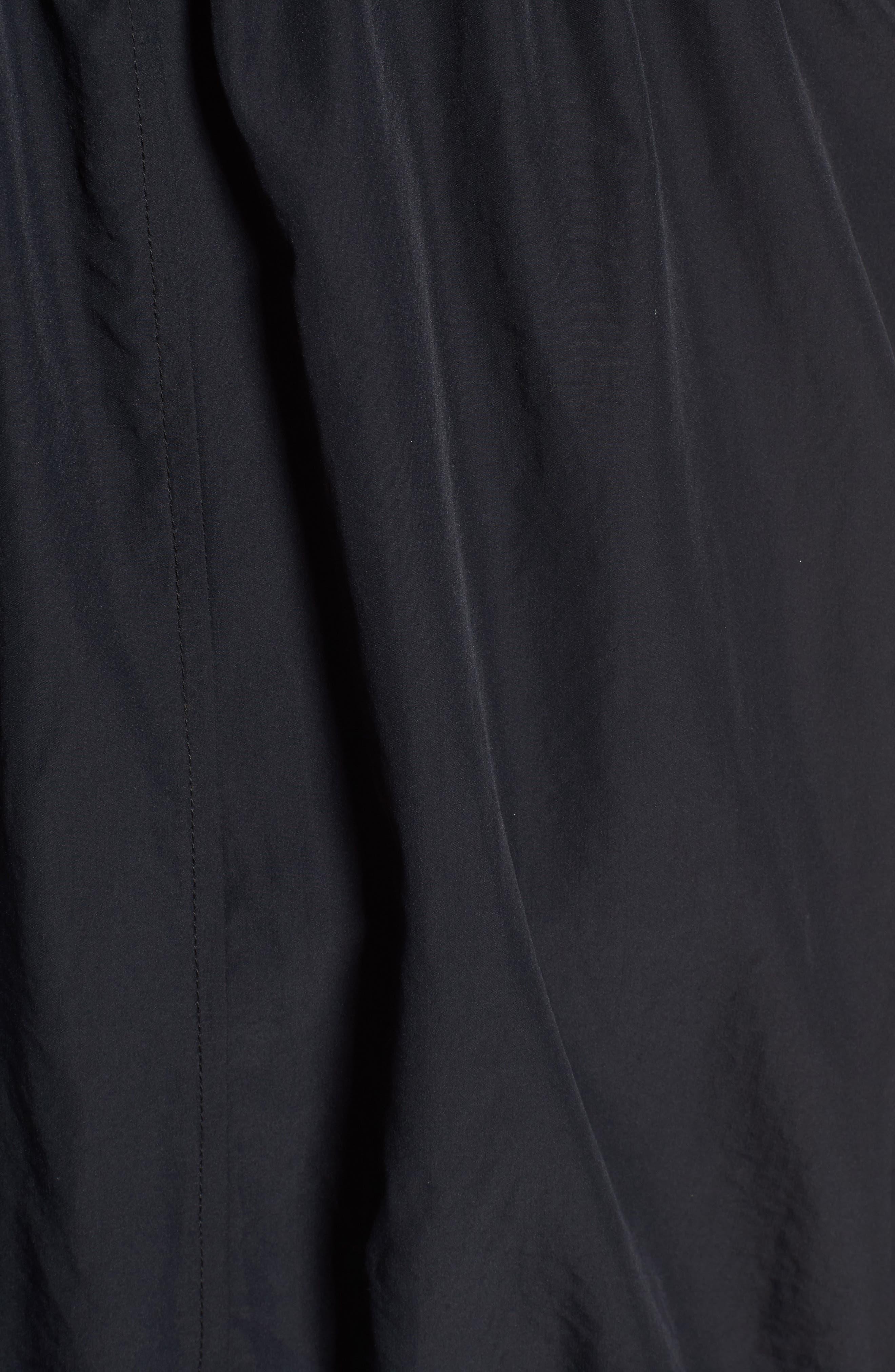 Tumbled Anorak Jacket,                             Alternate thumbnail 6, color,                             Black