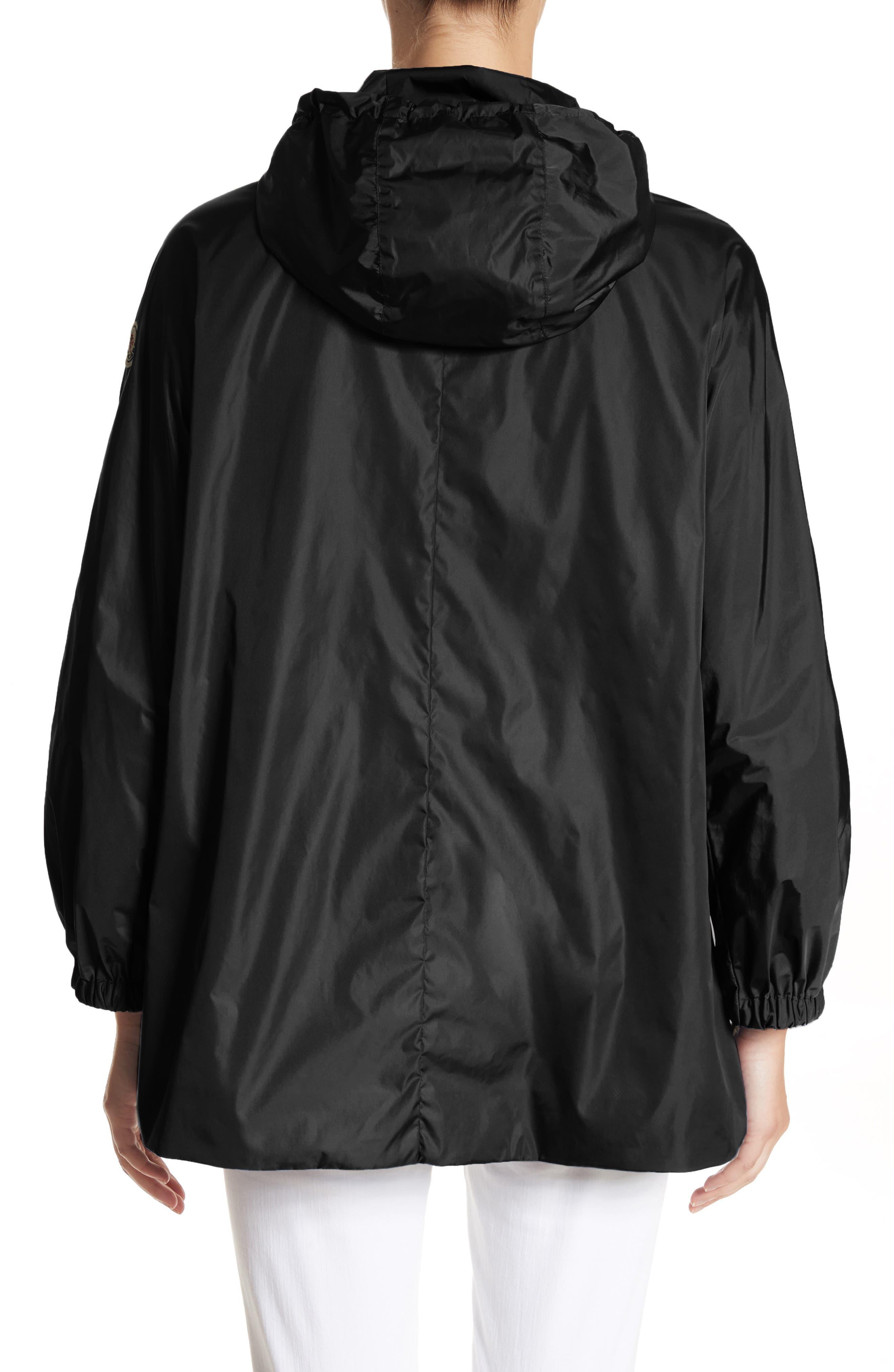 Sanvel Water Resistant Coat,                             Alternate thumbnail 2, color,                             Black