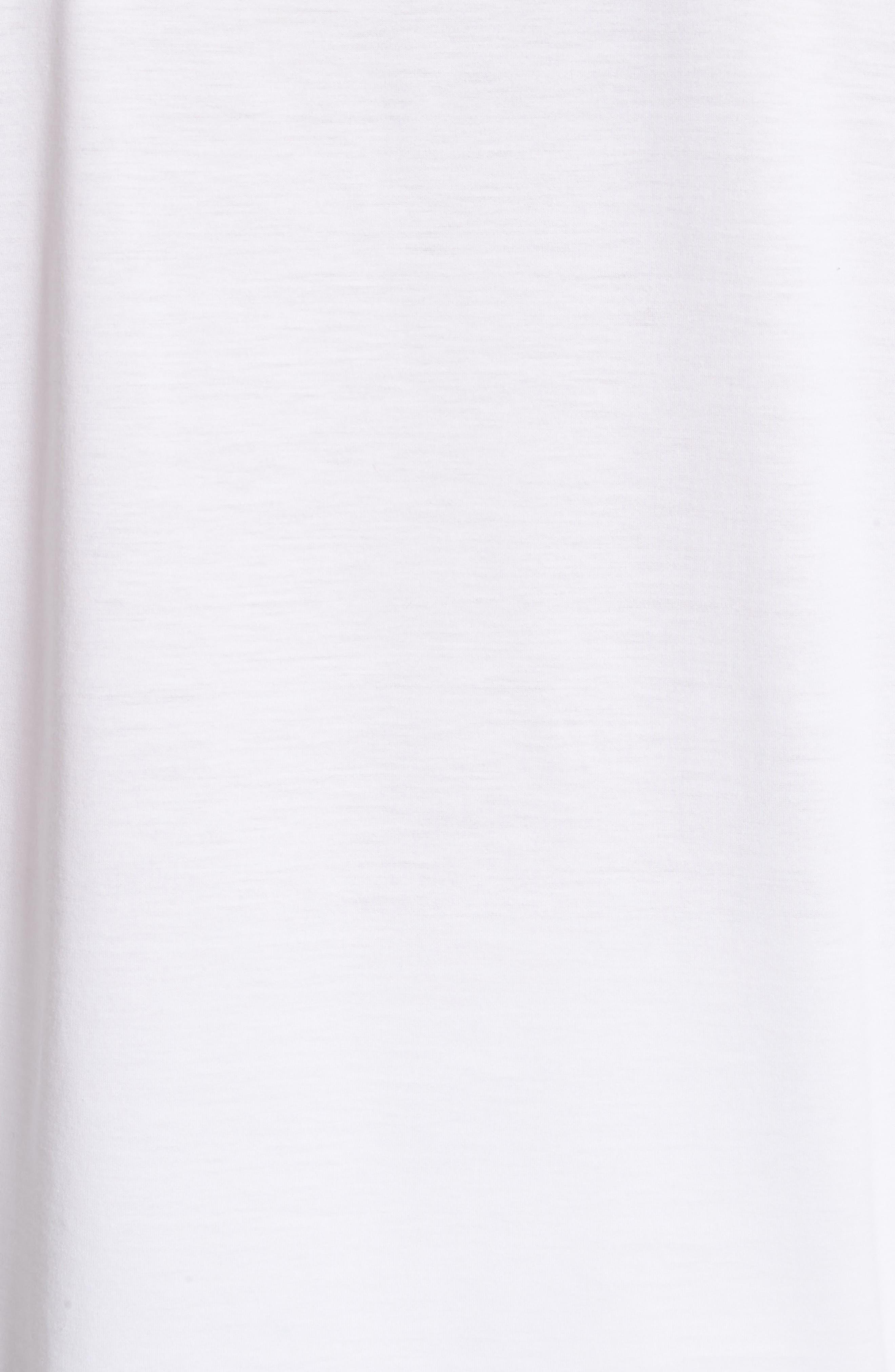 Cotton Tee,                             Alternate thumbnail 5, color,                             White