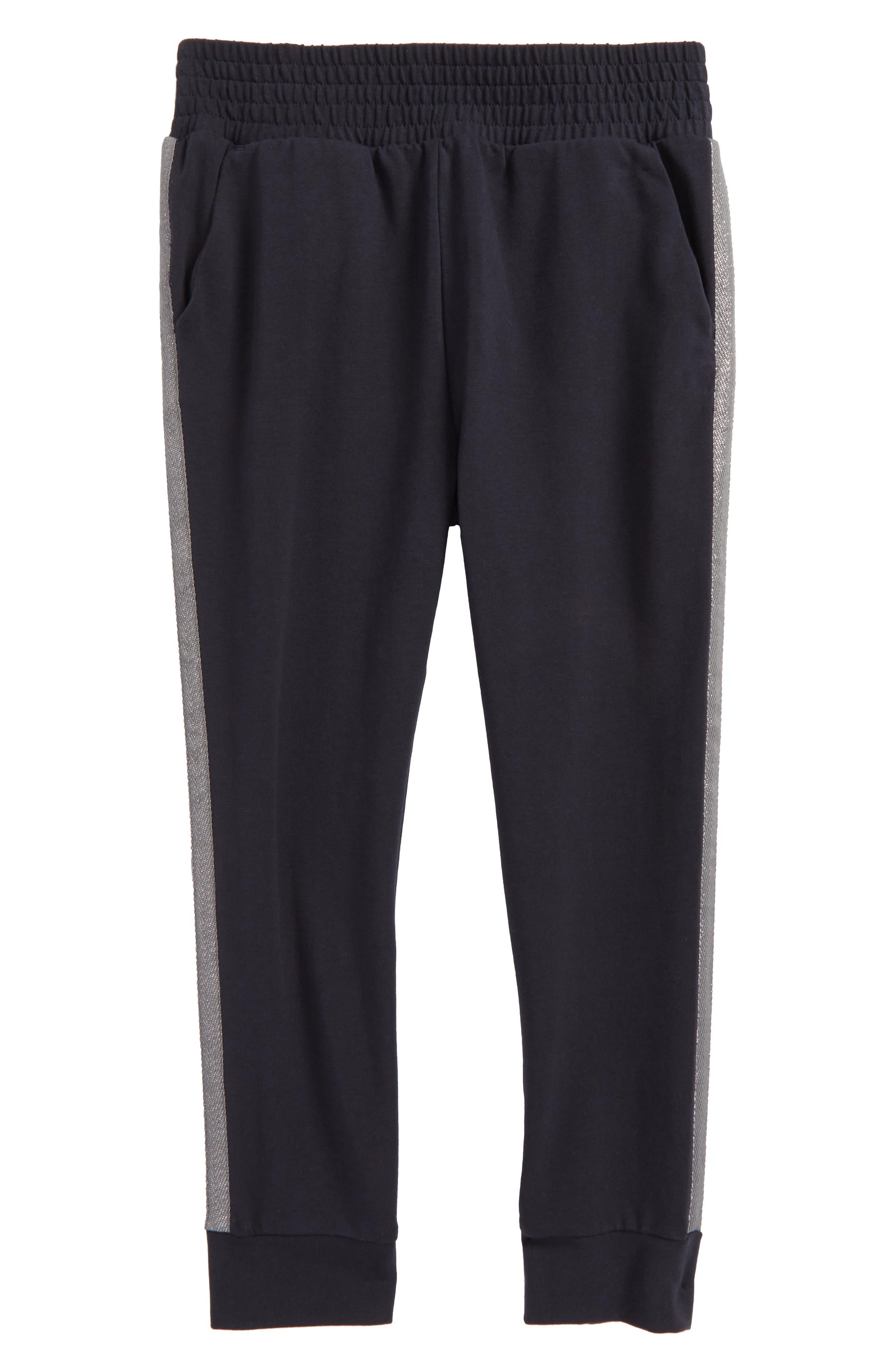 Tuxedo Stripe Jogger Pants,                         Main,                         color, Heritage Blue