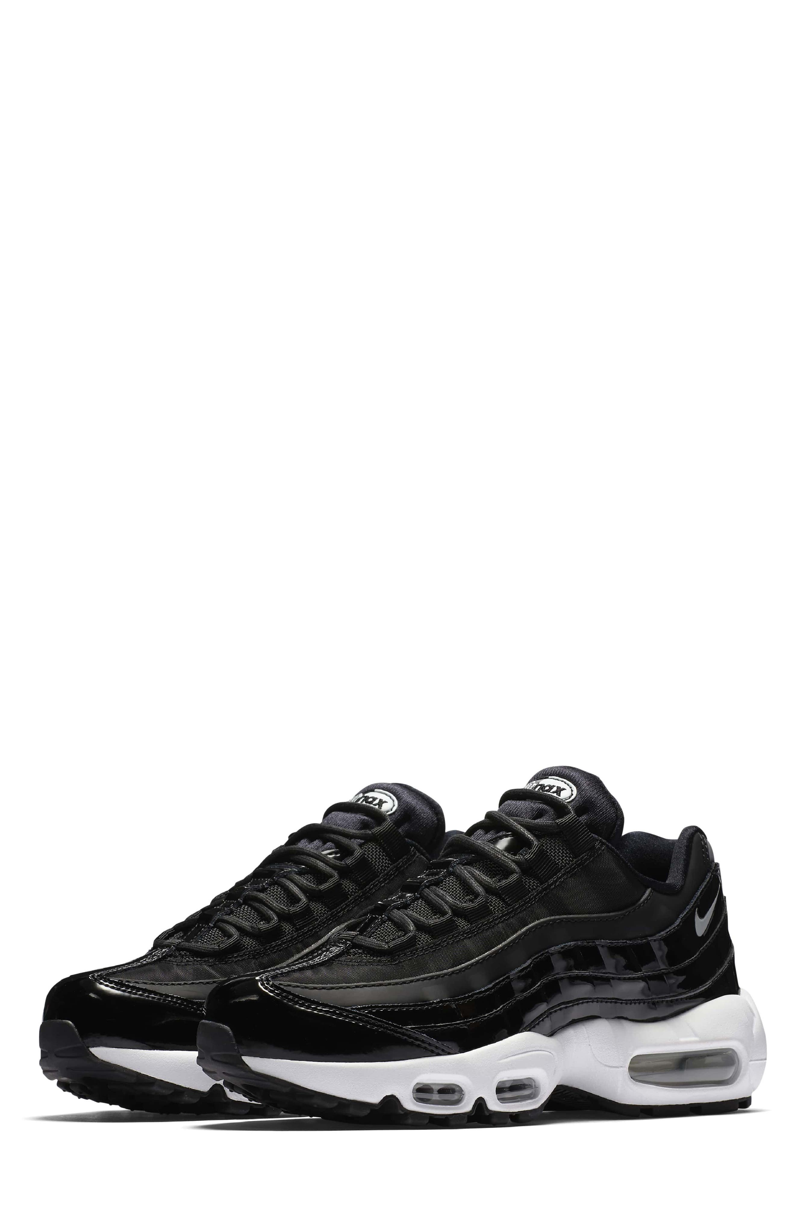 black and white nike air max shoes. nike air max 95 special edition running shoe (women) black and white shoes