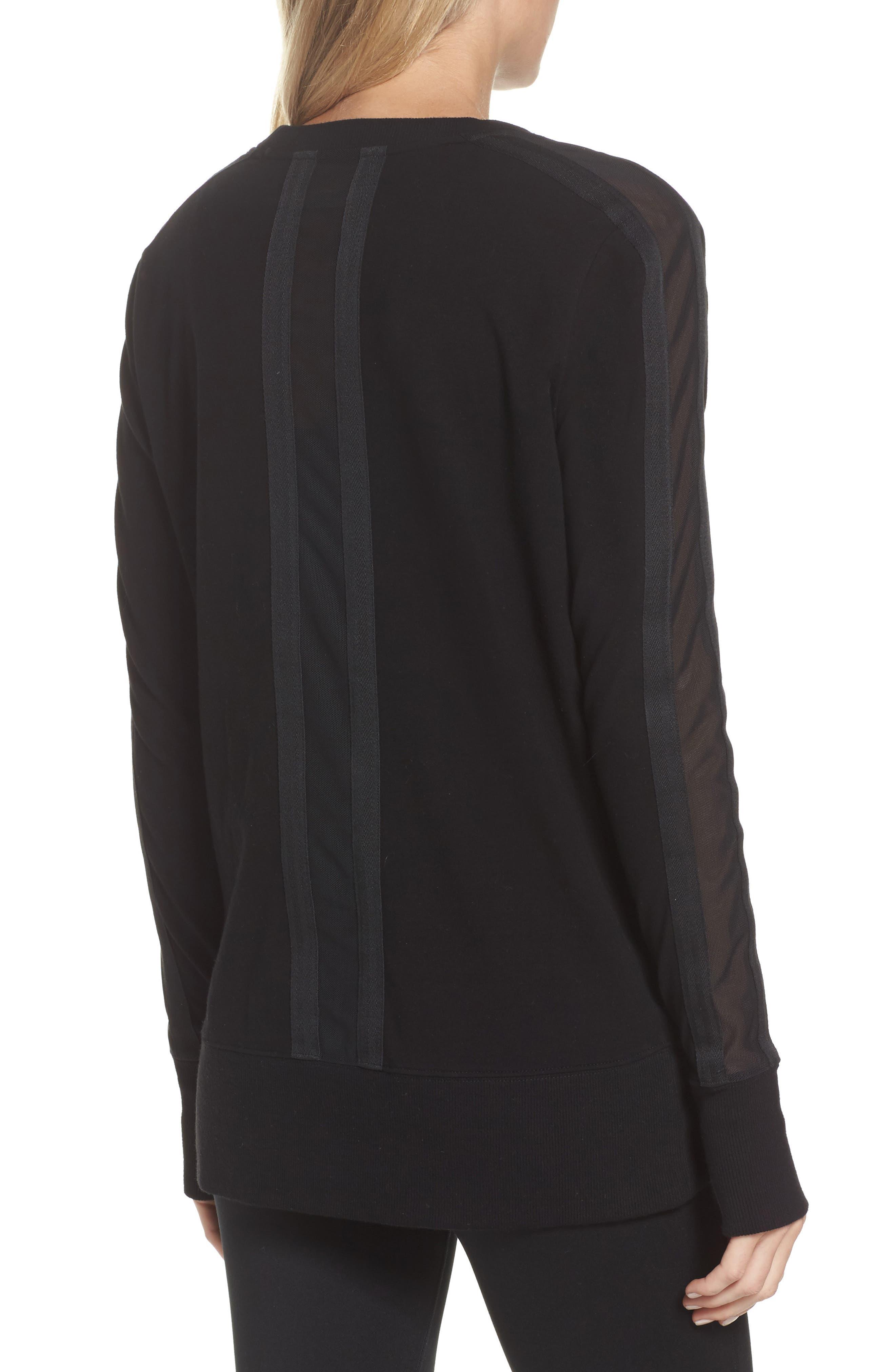 Alternate Image 2  - Blanc Noir Social Sweatshirt