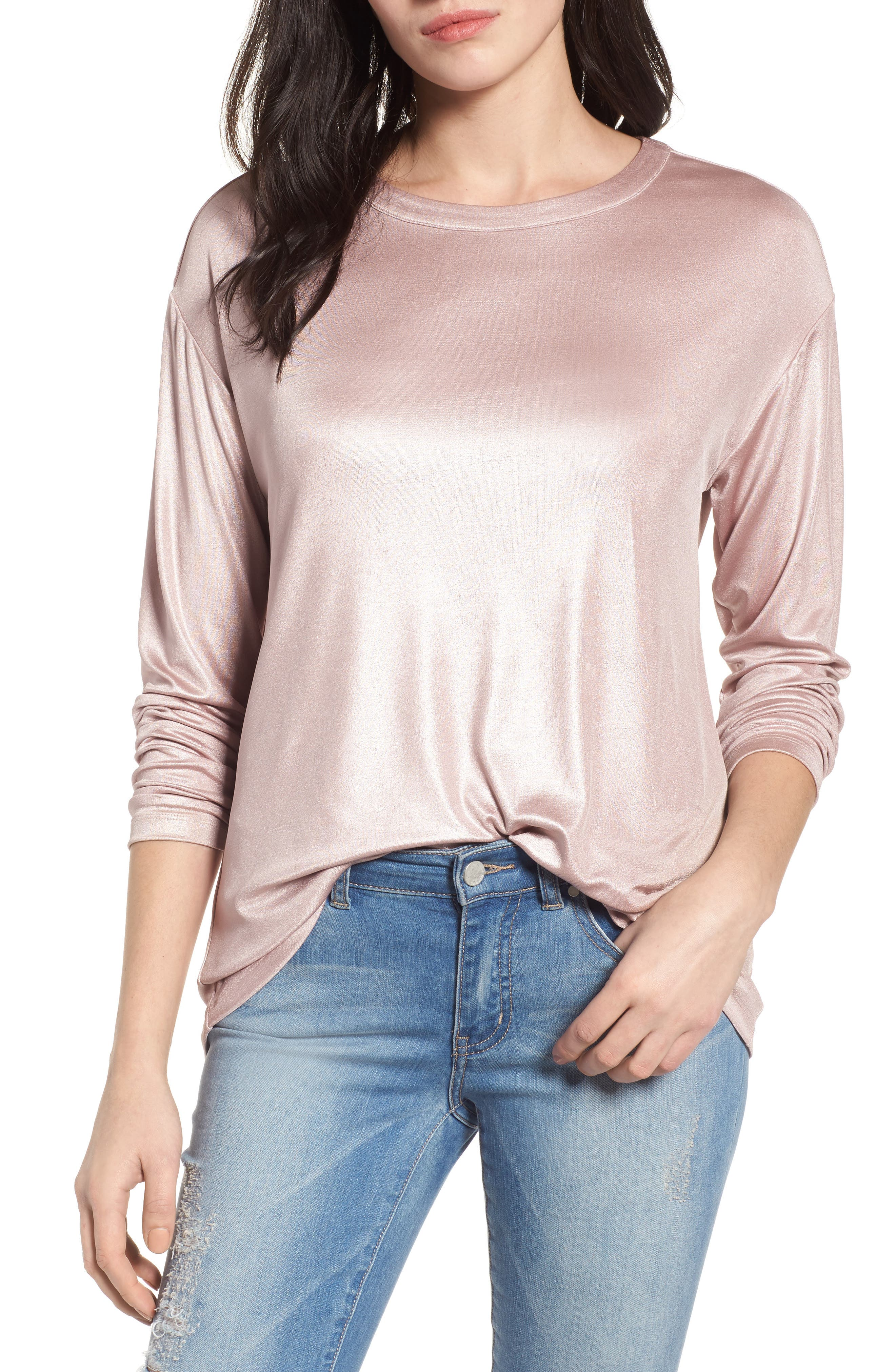 Main Image - Halogen® Drape Back Top