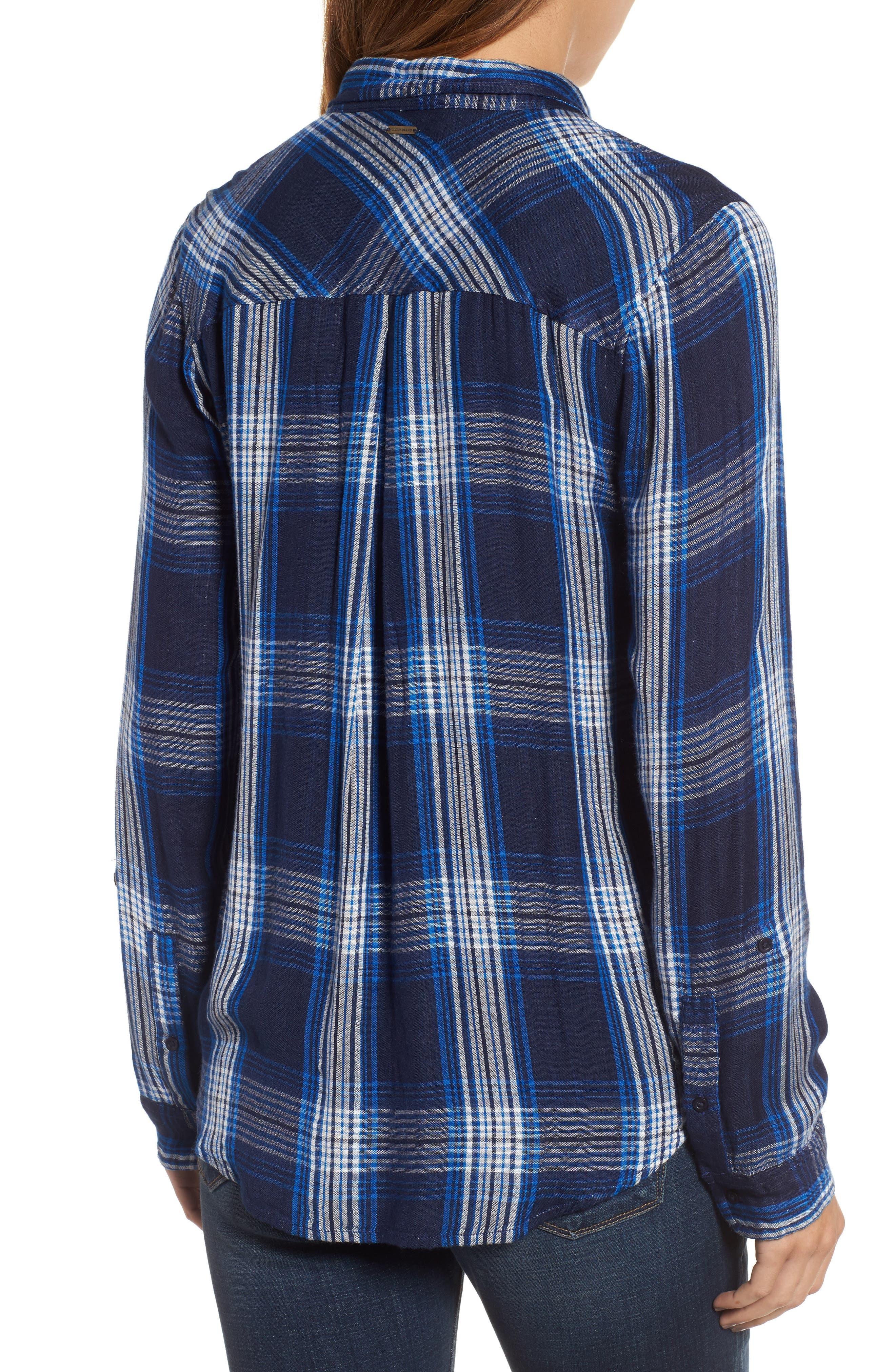 Alternate Image 2  - Lucky Brand Plaid Pocket Shirt