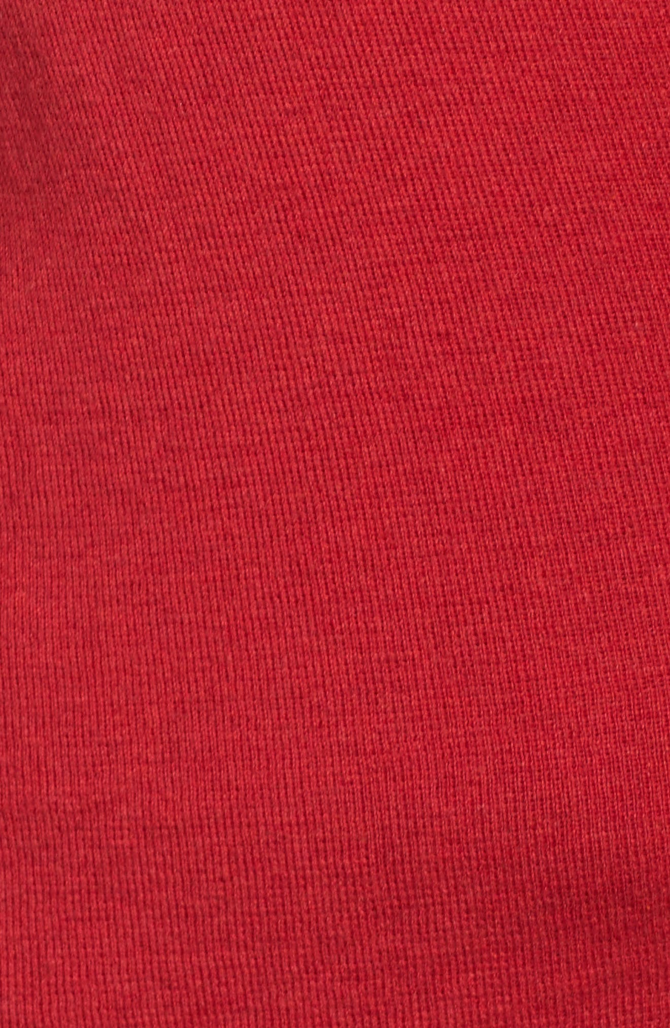 4-Way Convertible Cardigan,                             Alternate thumbnail 5, color,                             True Red