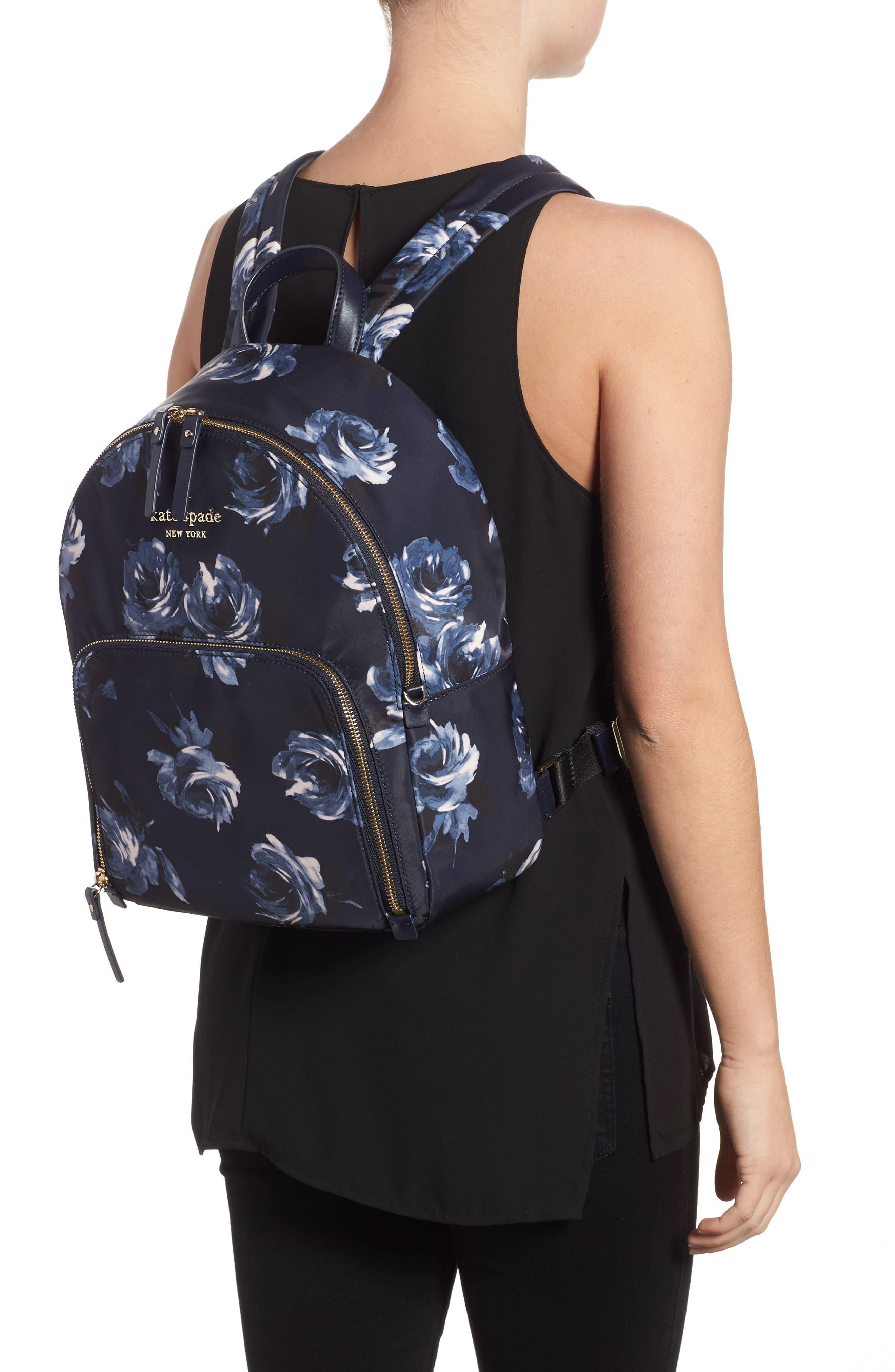 watson lane night rose hartley nylon backpack,                             Alternate thumbnail 2, color,                             Night Rose
