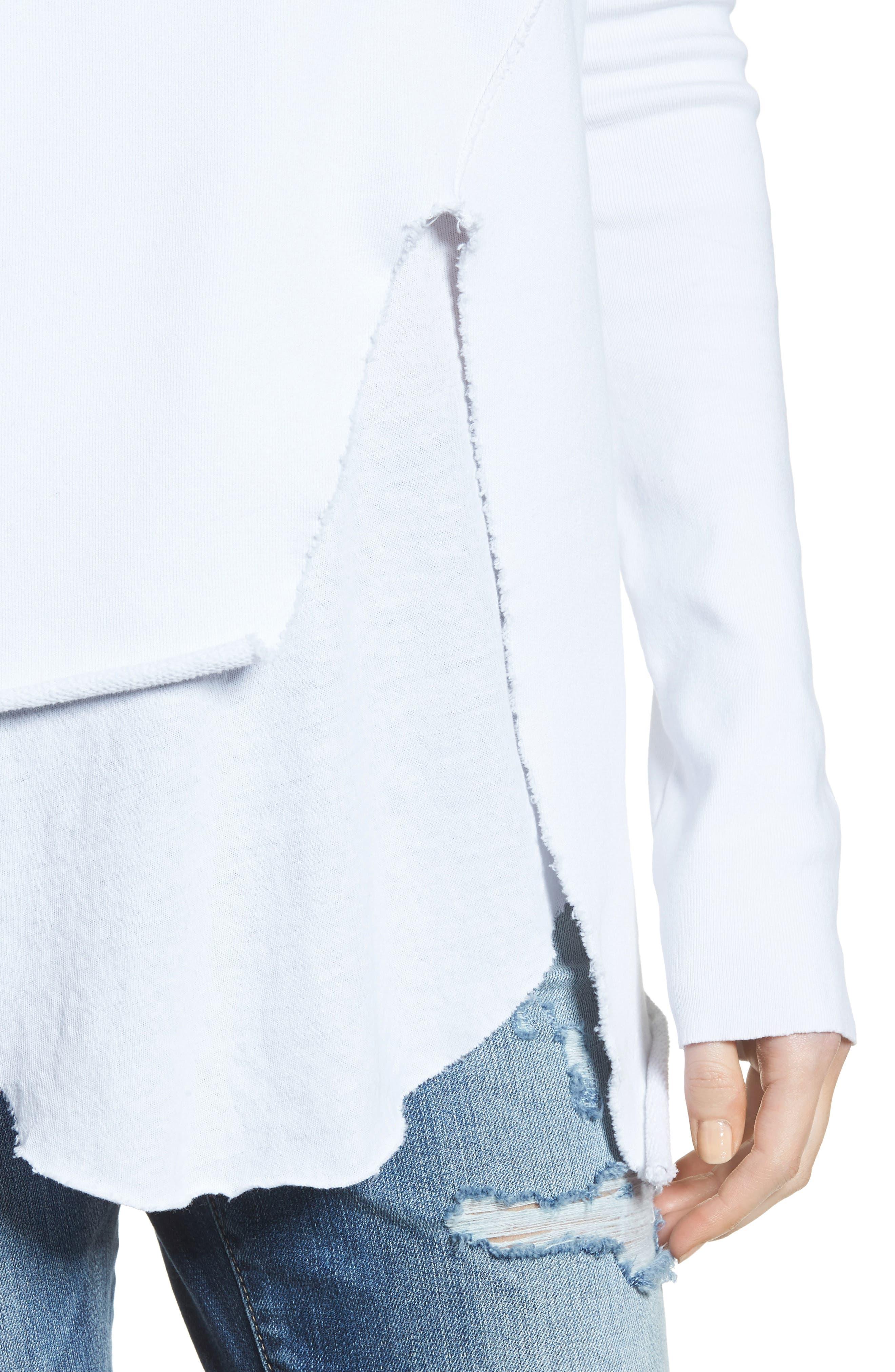 Alternate Image 5  - Frank & Eileen Tee Lab Asymmetrical Sweatshirt