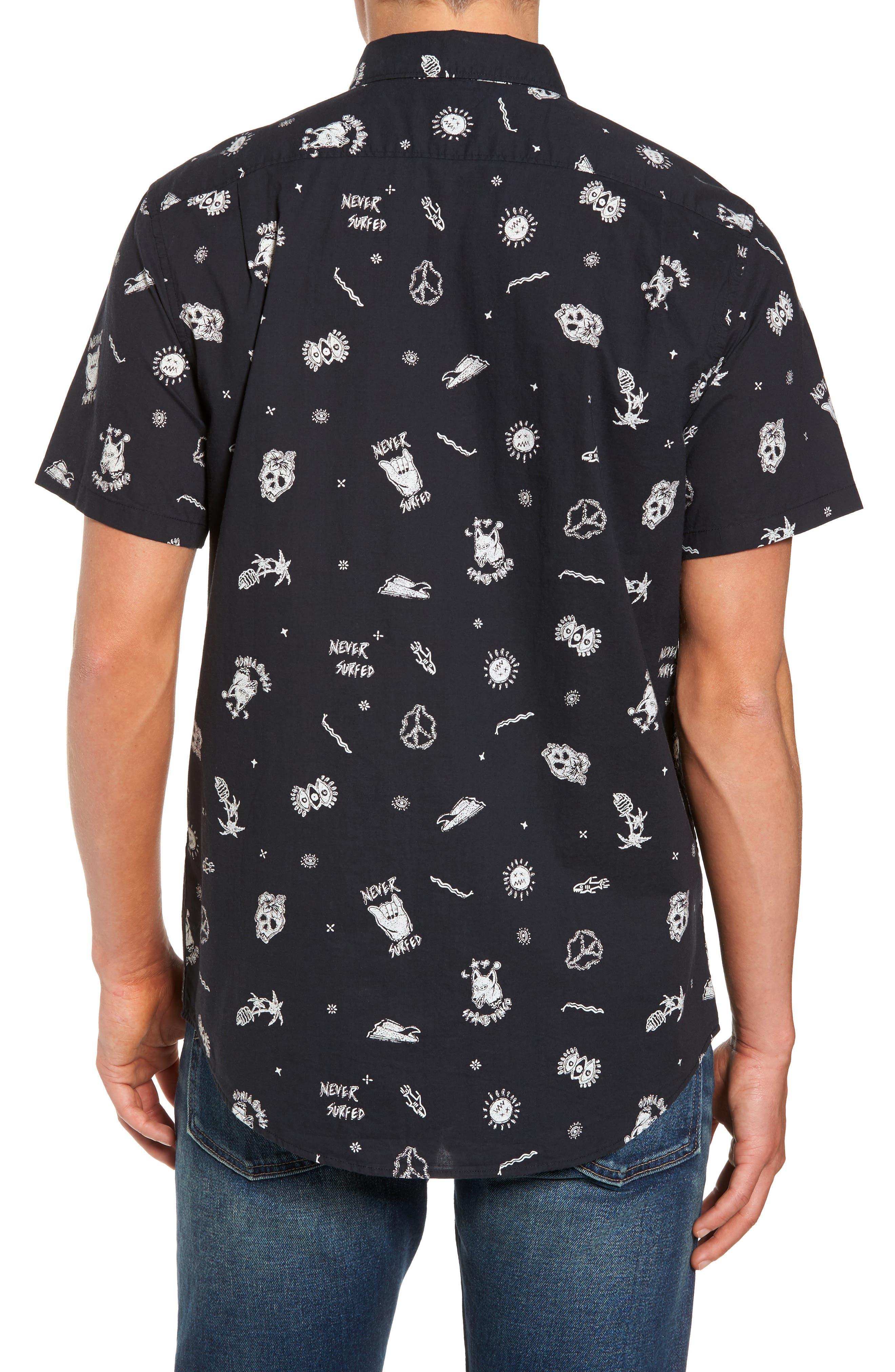Alternate Image 2  - Billabong Sunday Woven Shirt