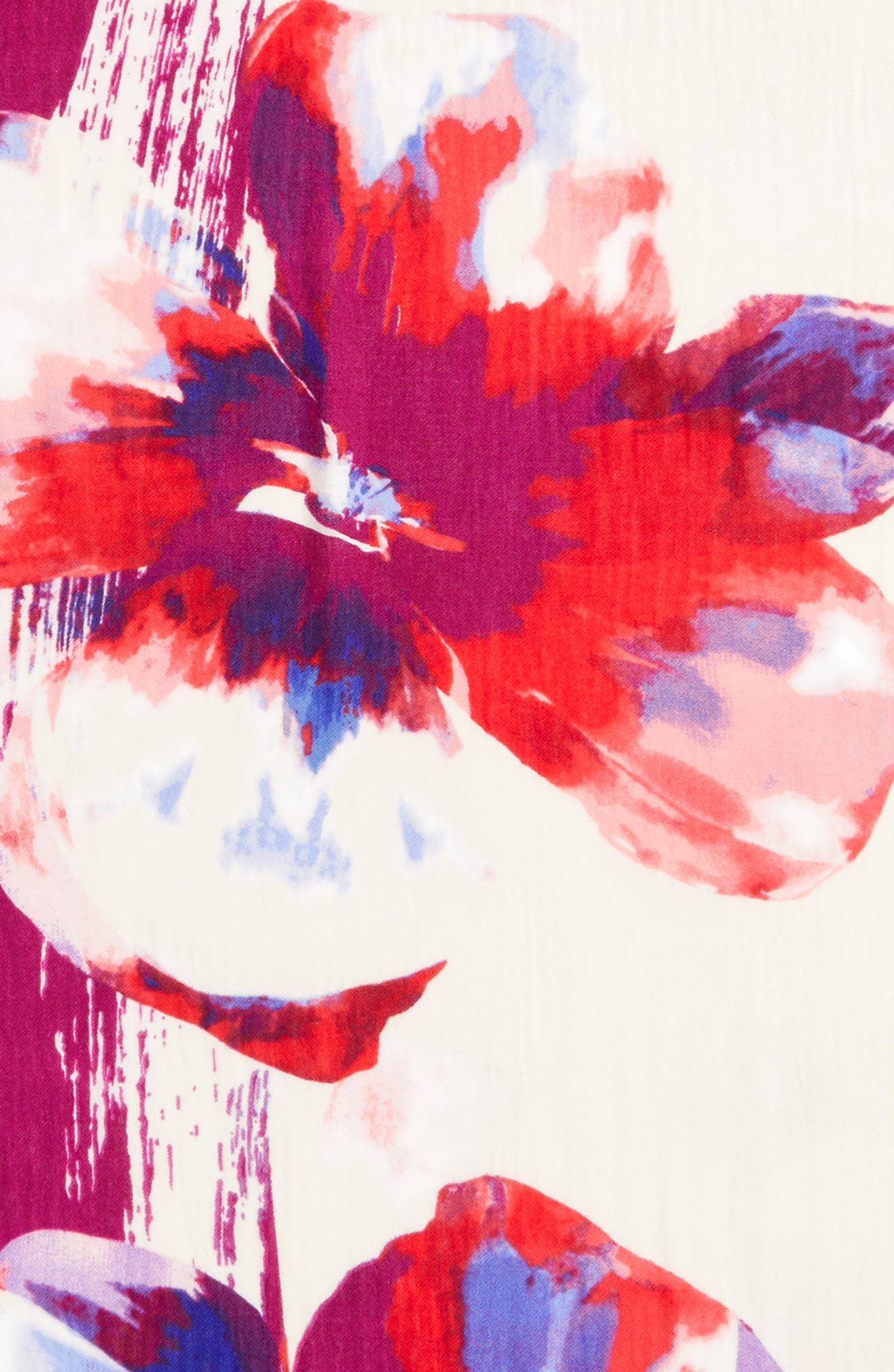 Alternate Image 4  - Nordstrom Tissue Print Wool & Cashmere Wrap Scarf