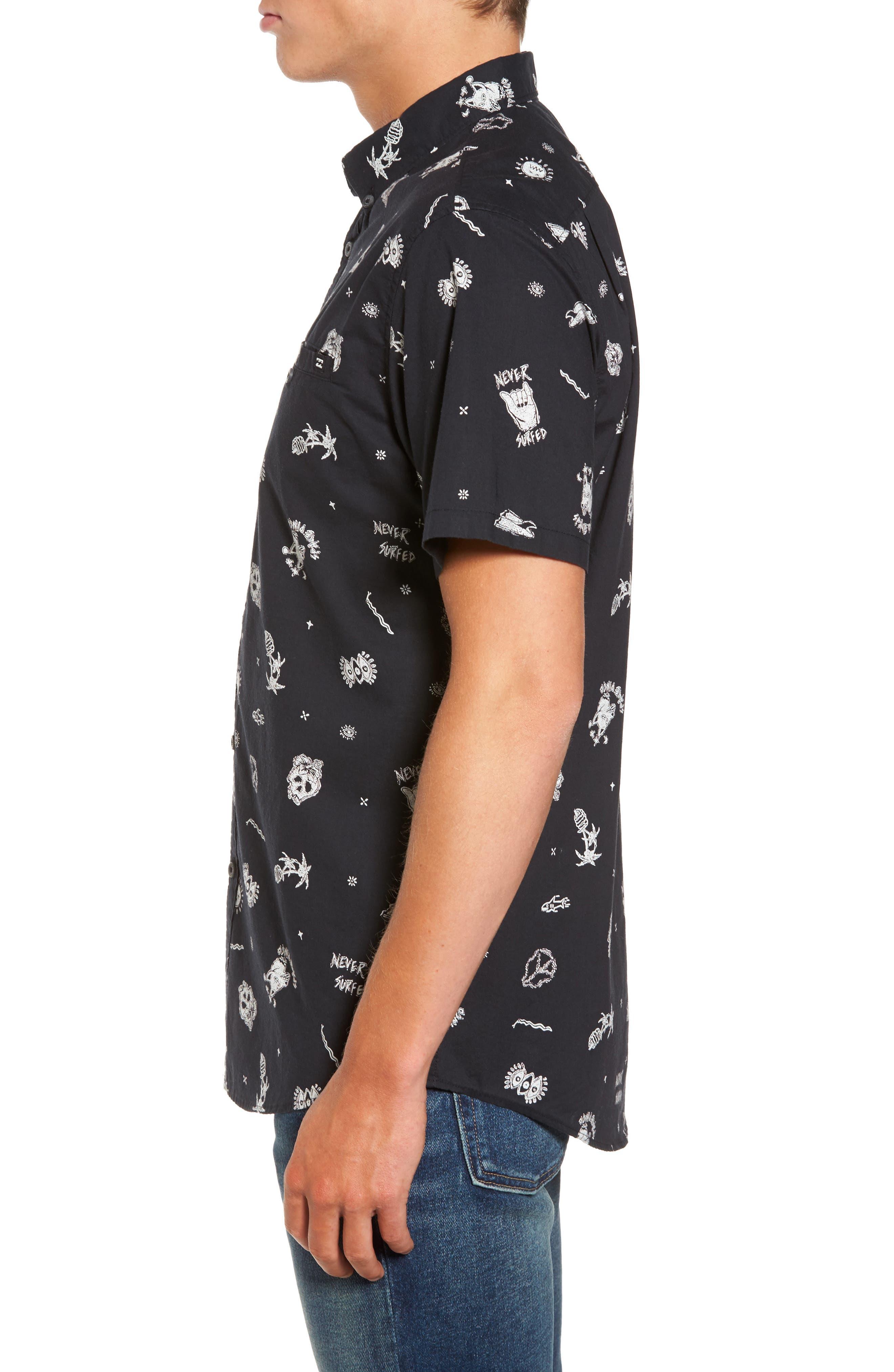 Alternate Image 3  - Billabong Sunday Woven Shirt