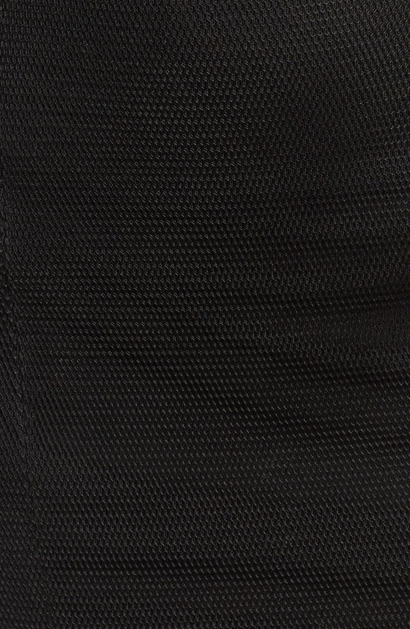 Fate Off the Shoulder Dress,                             Alternate thumbnail 5, color,                             Black