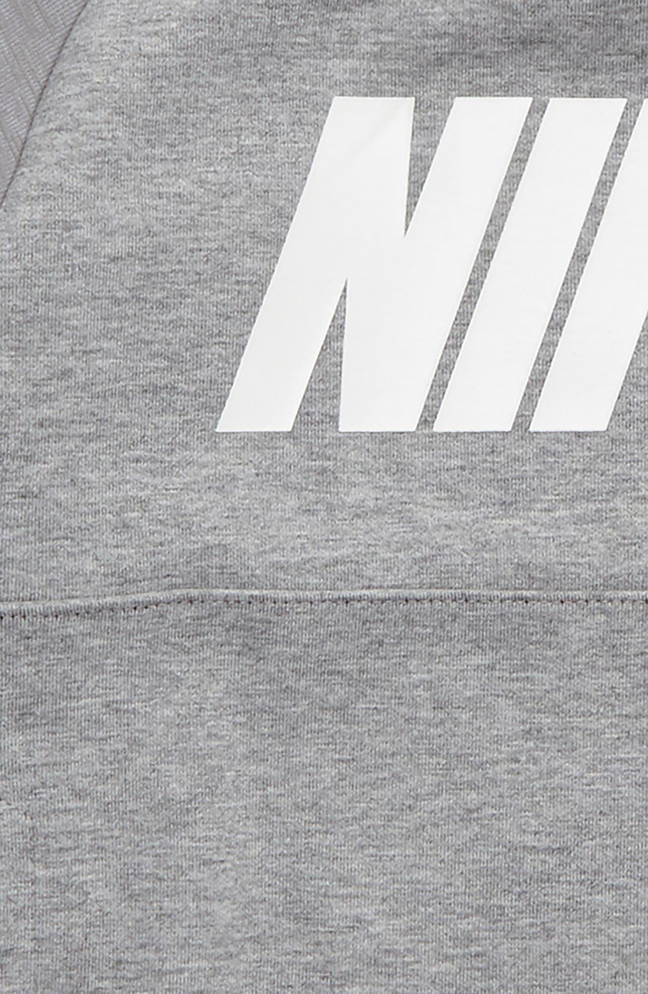 Alternate Image 2  - Nike Raglan Sleeve Sweatshirt (Toddler Boys & Little Boys)