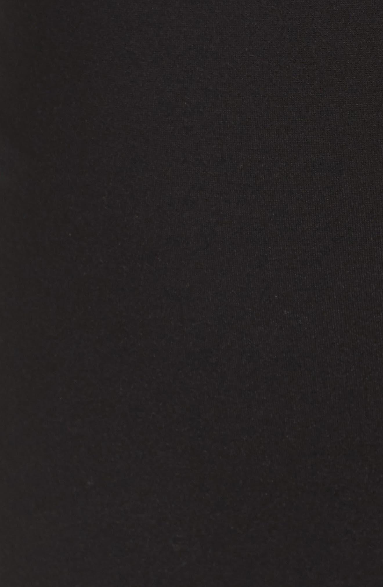 Floetry Bell Sleeve Sheath Dress,                             Alternate thumbnail 5, color,                             Cream Lace/ Black