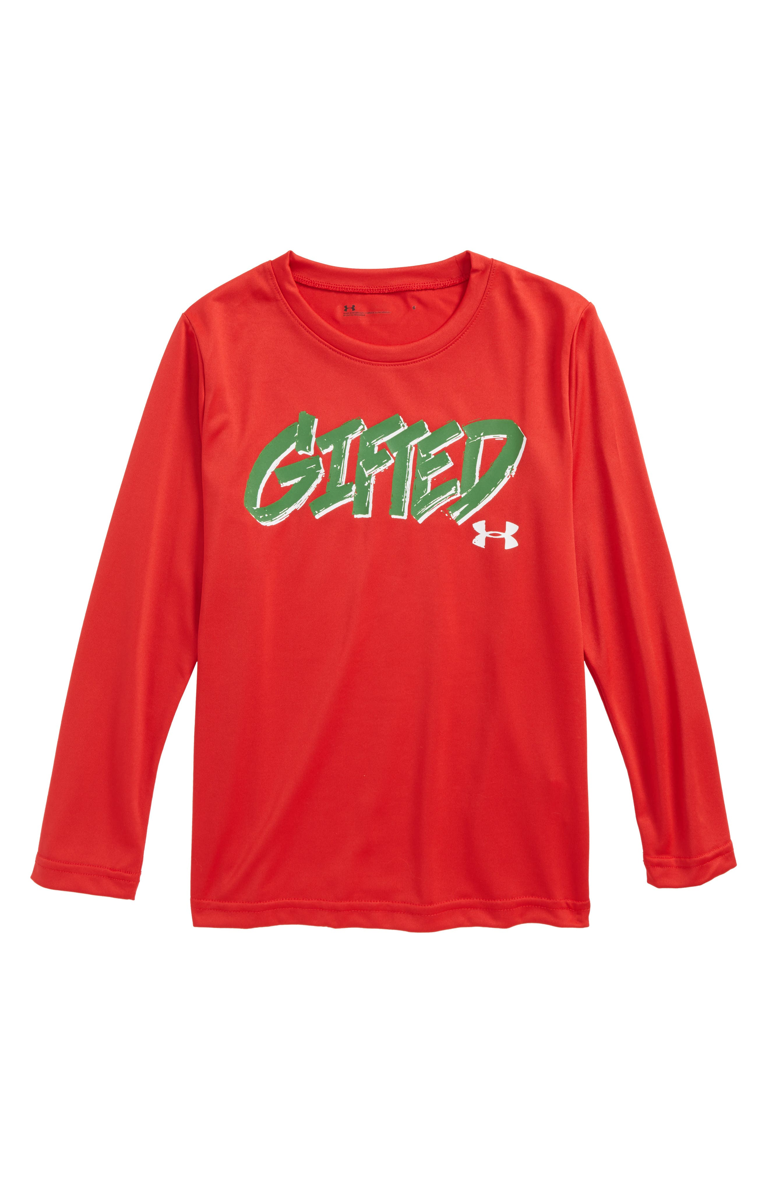 Gifted T-Shirt,                         Main,                         color, Red