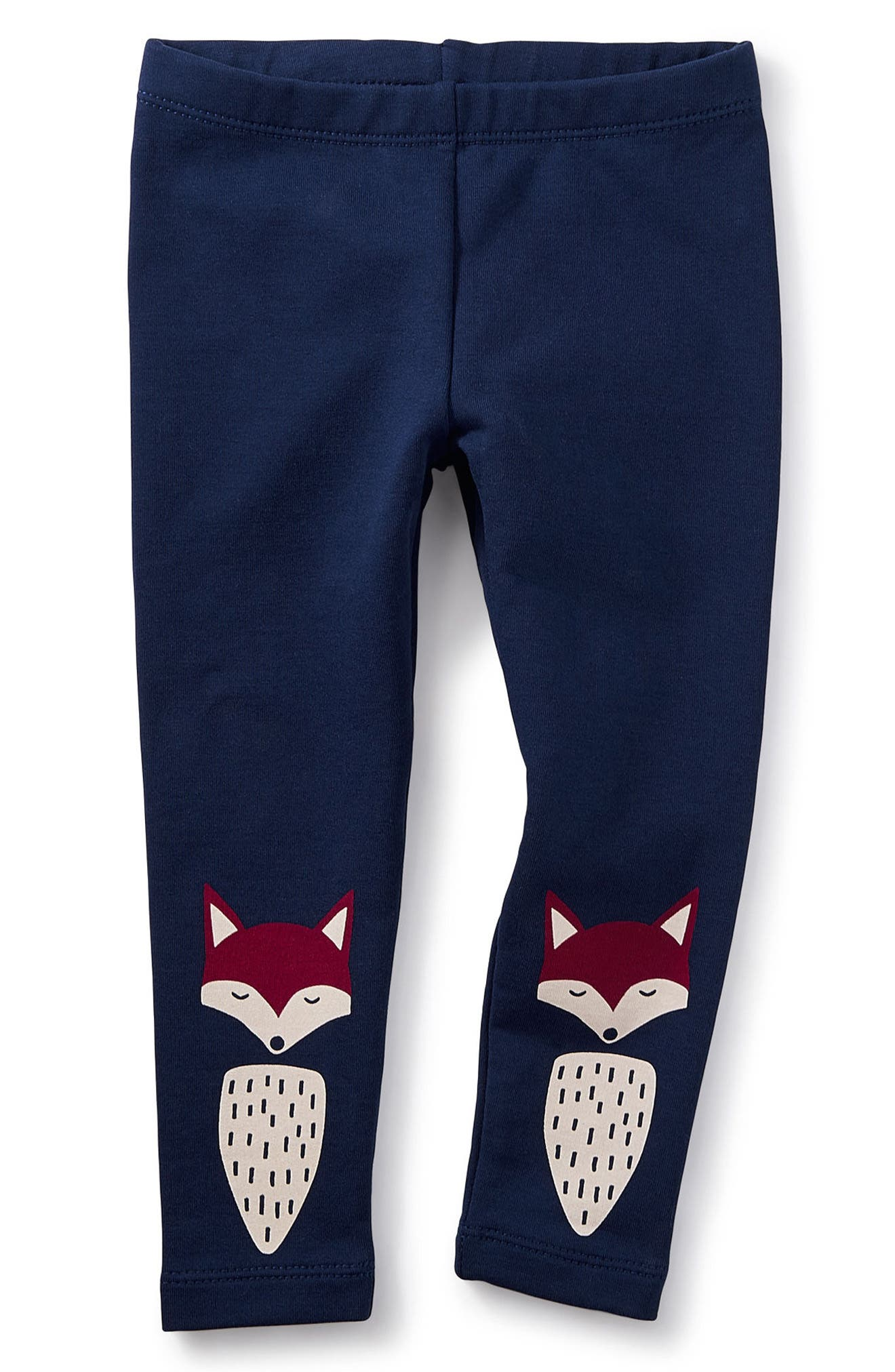 Tea Collection Foxed Cozy Leggings (Baby Girls)