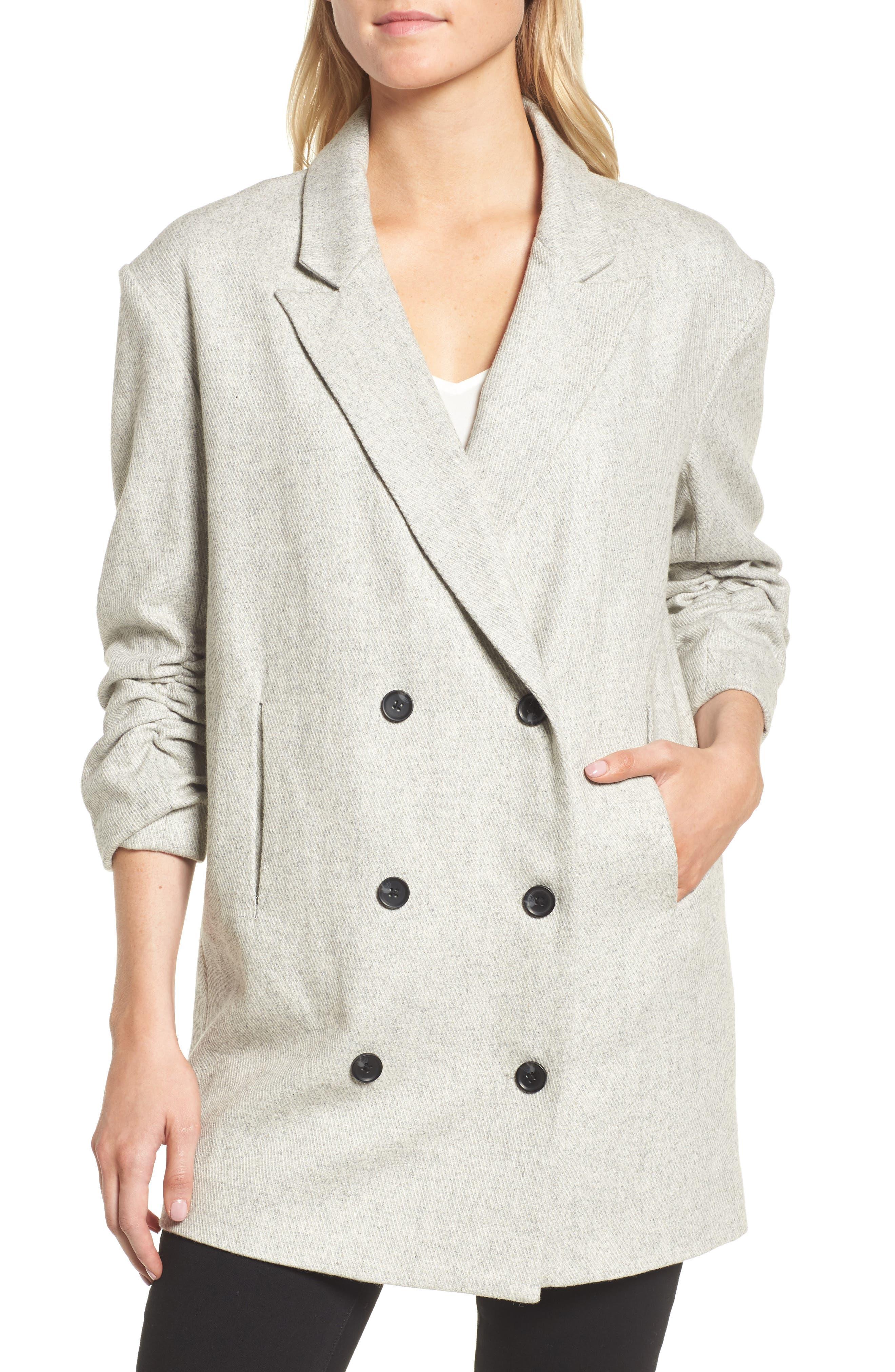 Bon Jacket,                             Alternate thumbnail 4, color,                             Grey