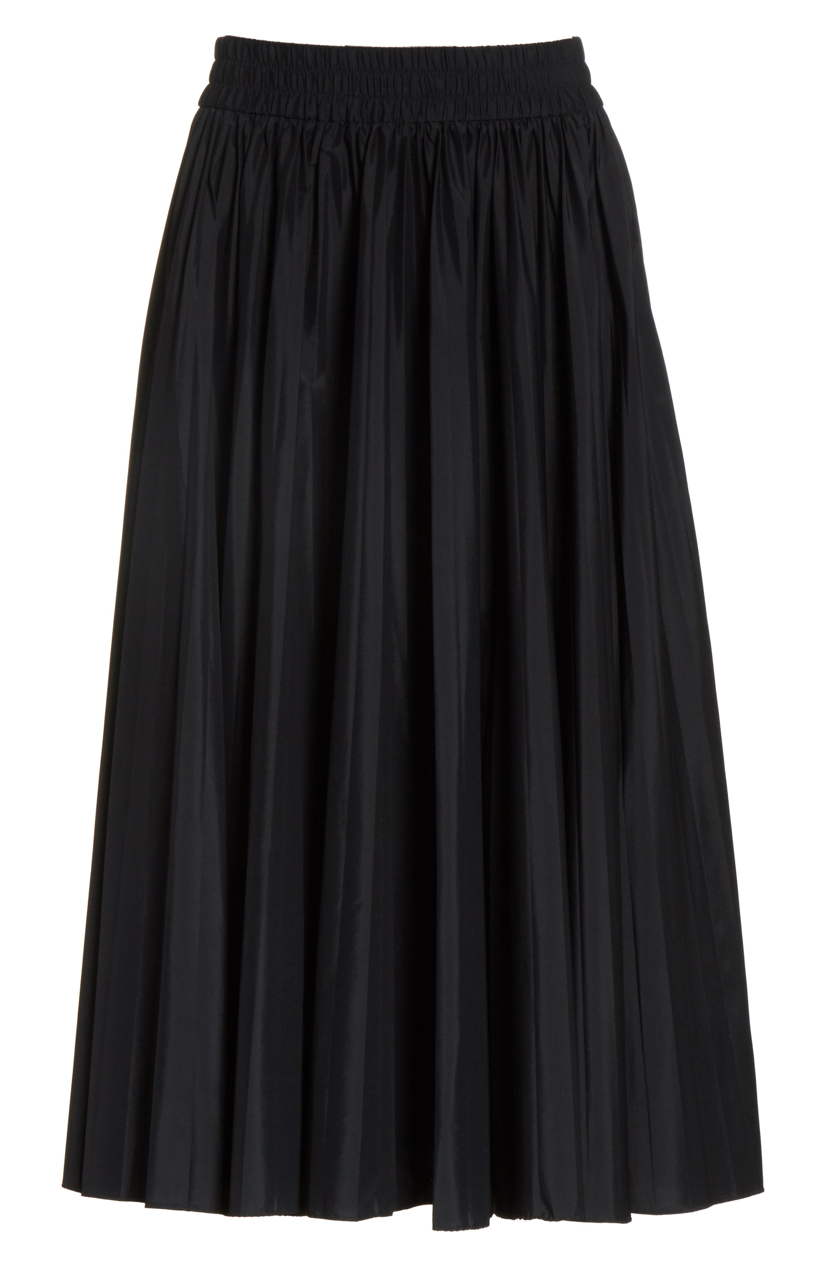 Alternate Image 6  - RED Valentino Pleated Midi Skirt