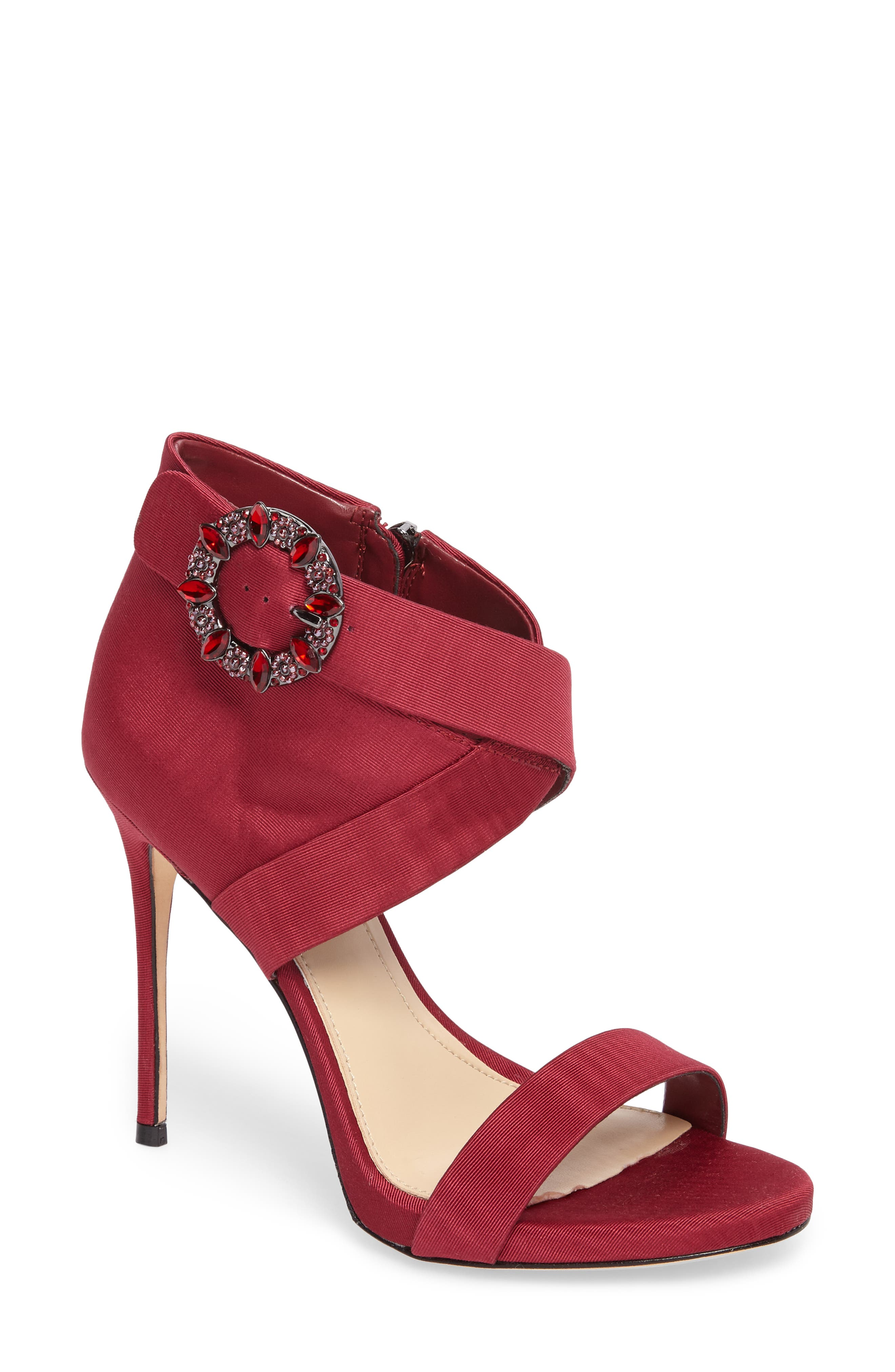 Alternate Image 1 Selected - Vince Camuto Dashal Crystal Buckle Sandal (Women)