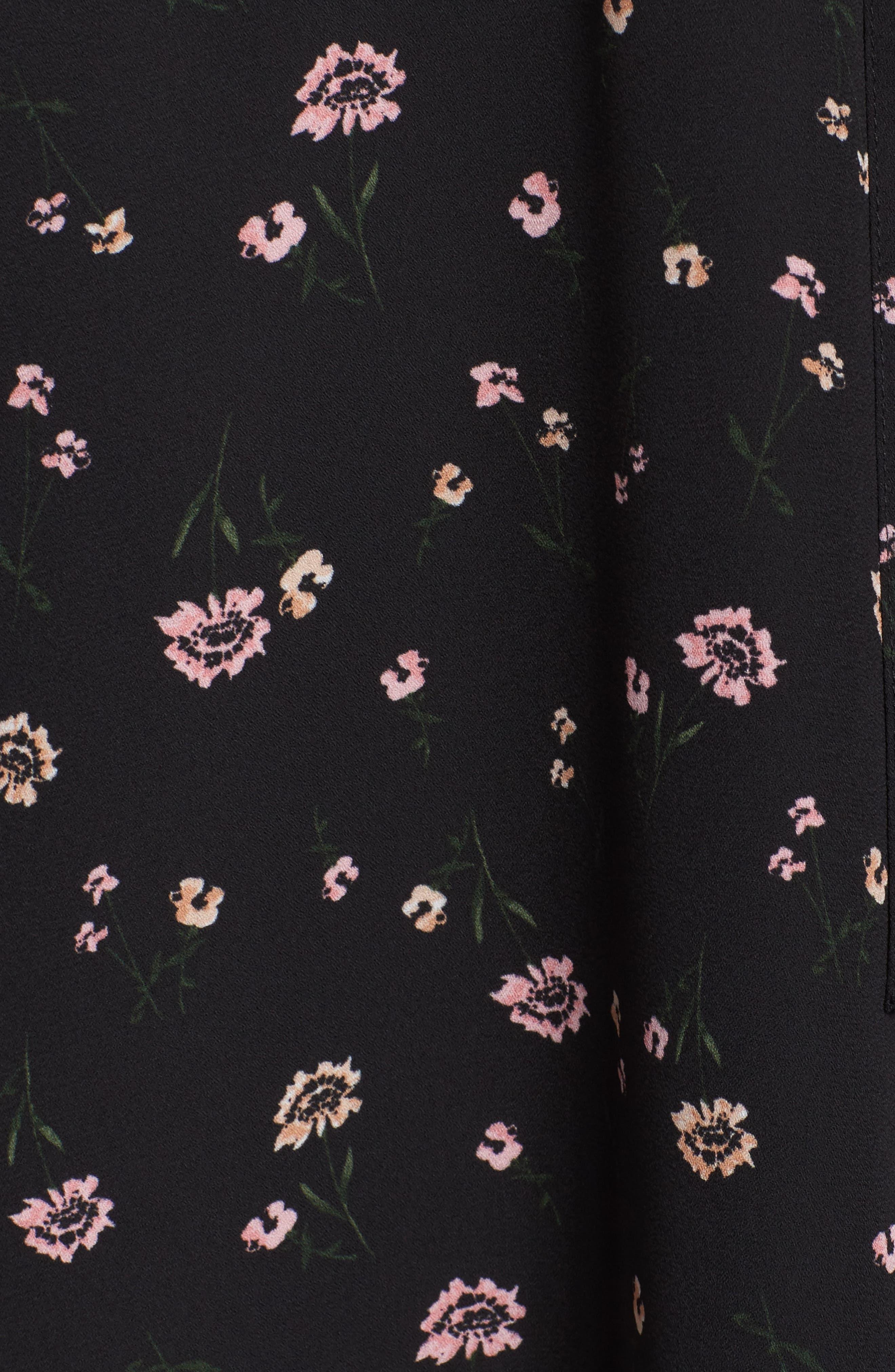 Lettie Dress,                             Alternate thumbnail 5, color,                             Black