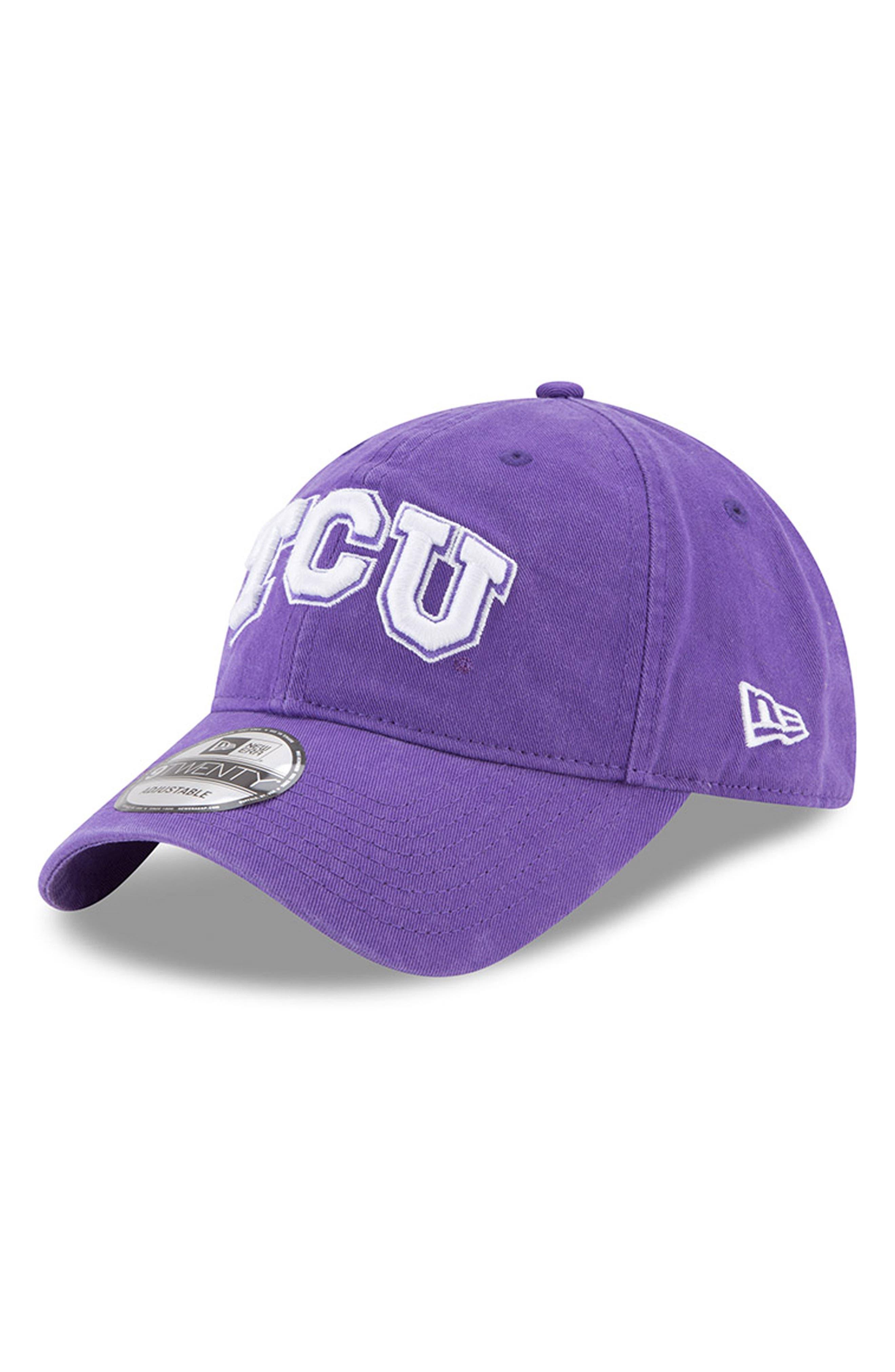 Collegiate Core Classic Baseball Cap,                         Main,                         color, Tcu Horned Frogs