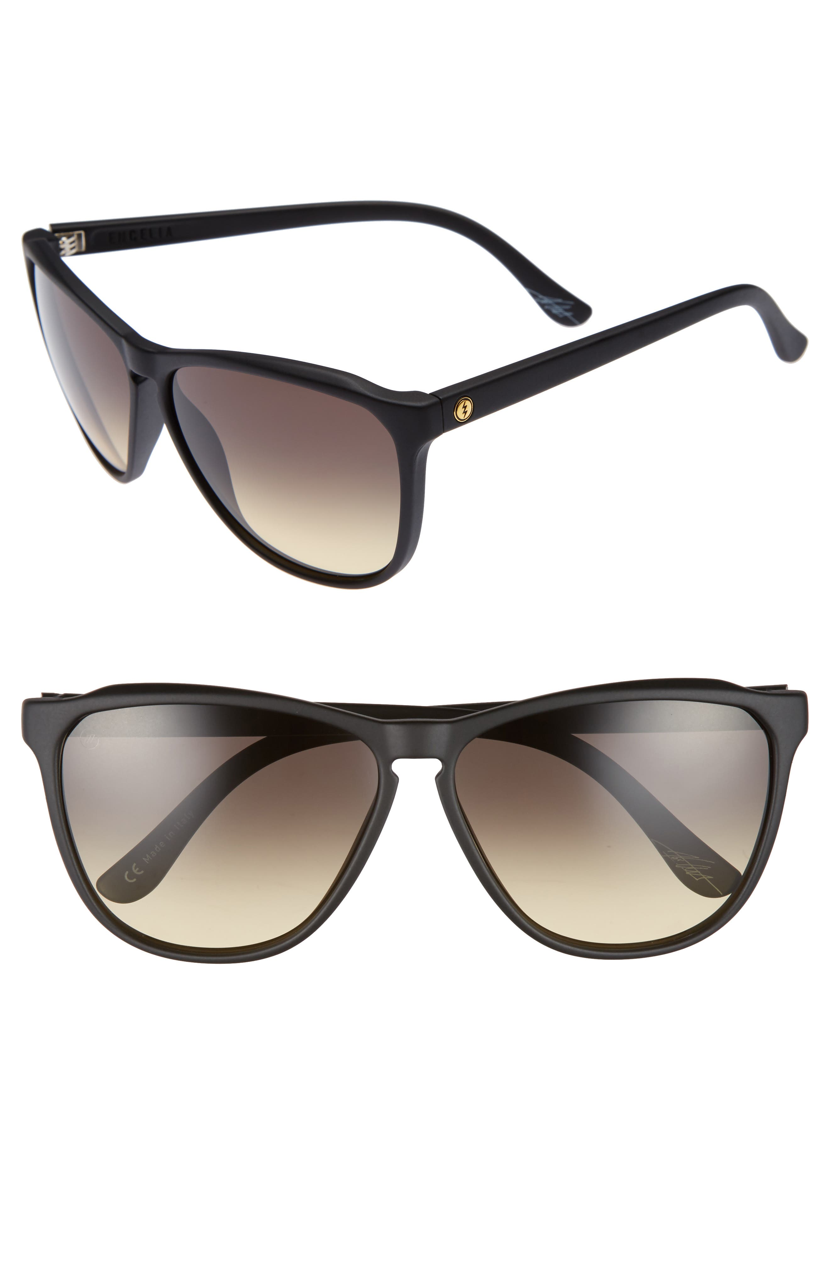 ELECTRIC 'Encelia' 66mm Retro Sunglasses