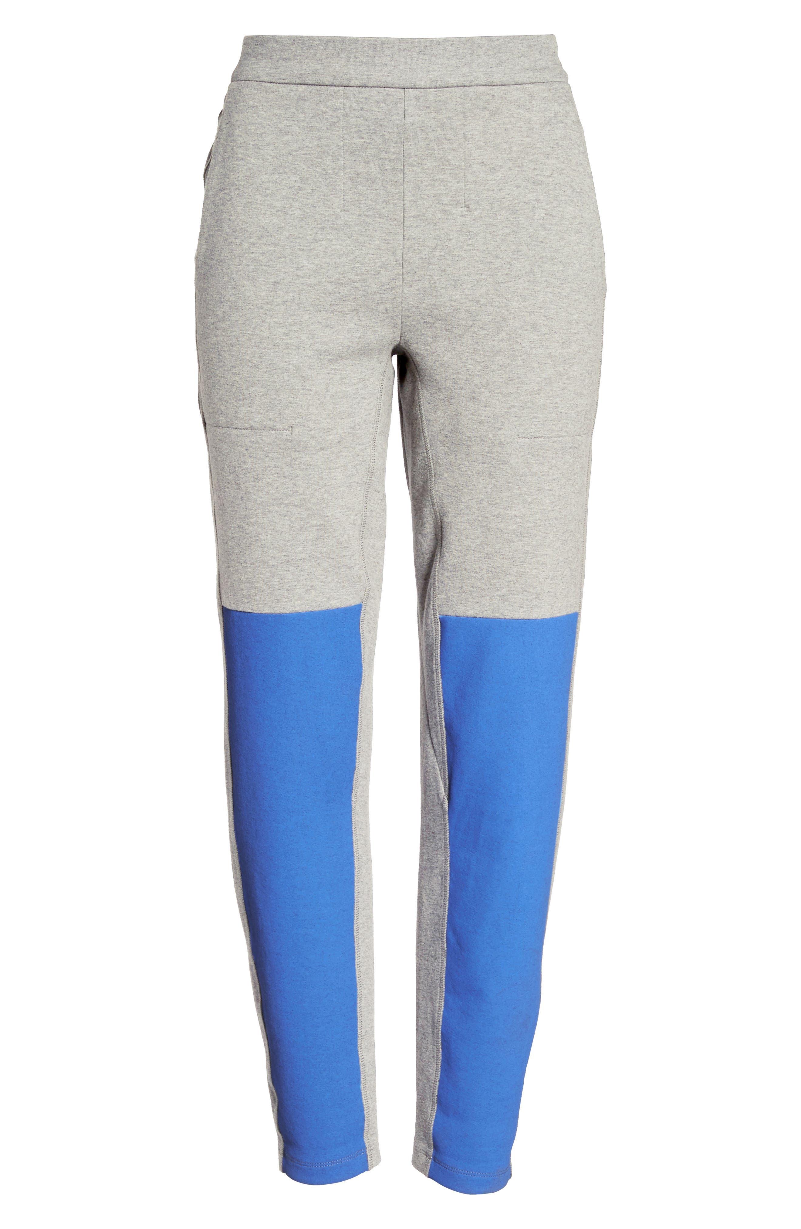 Blixen Track Pants,                             Alternate thumbnail 6, color,                             Grey Marl