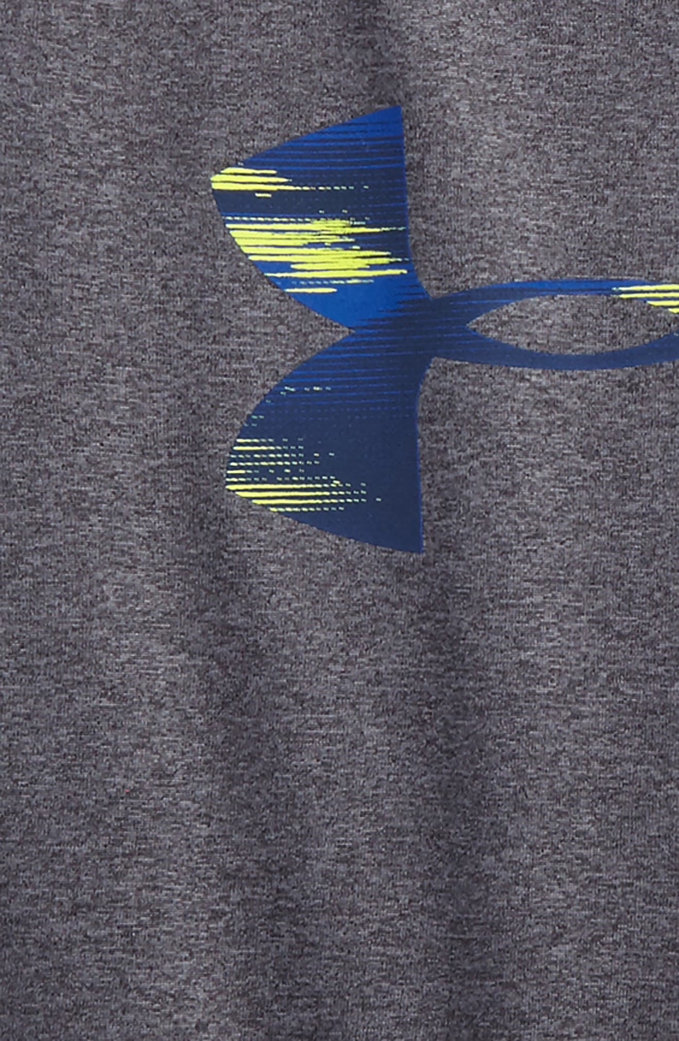 Alternate Image 2  - Under Armour Accelerate Big Logo T-Shirt (Toddler Boys & Little Boys)