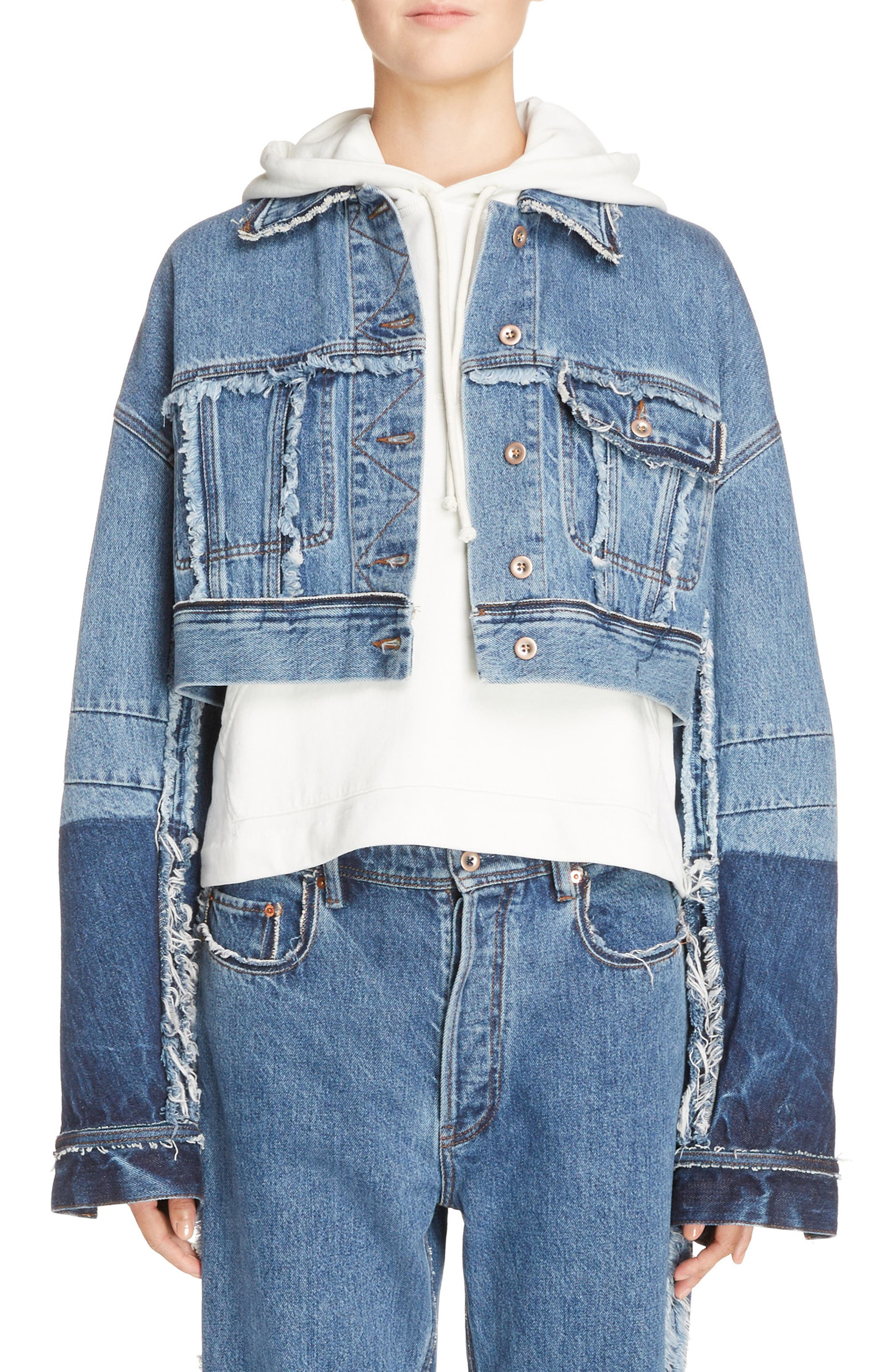 ACNE Studios Kremi Crop Denim Jacket