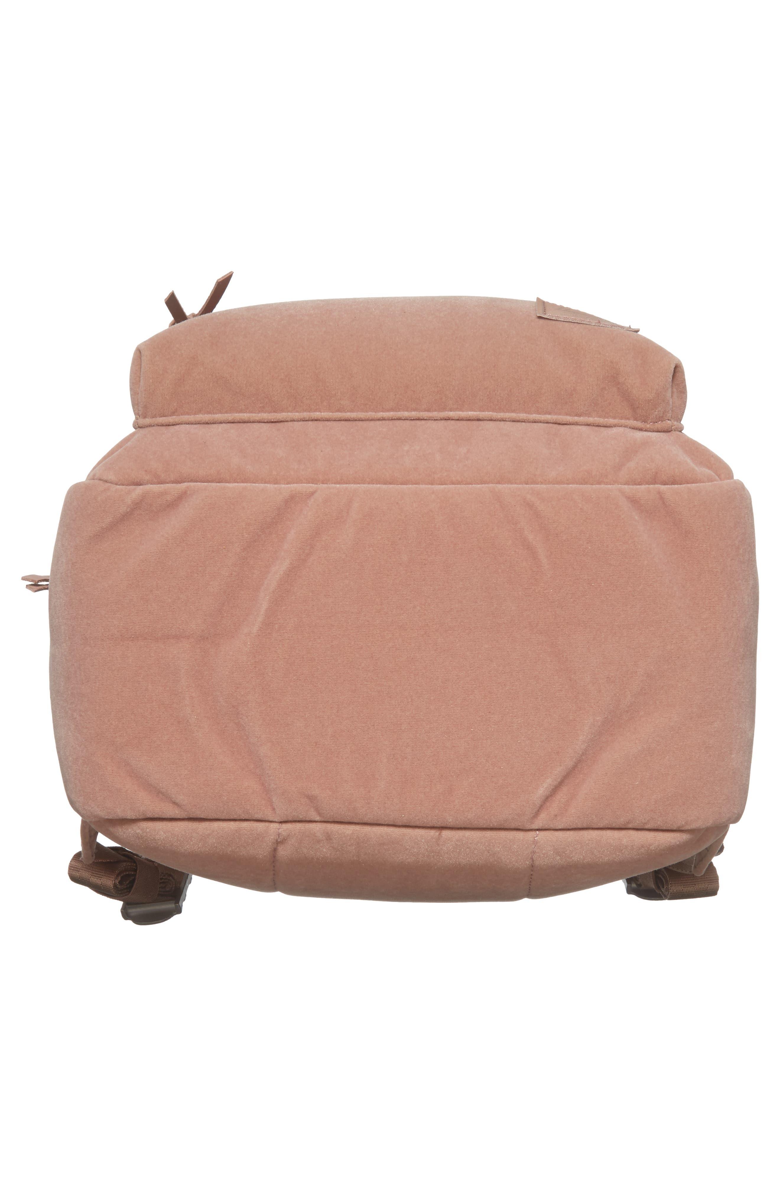 X-Small Velvet Grove Backpack,                             Alternate thumbnail 6, color,                             Ash Rose
