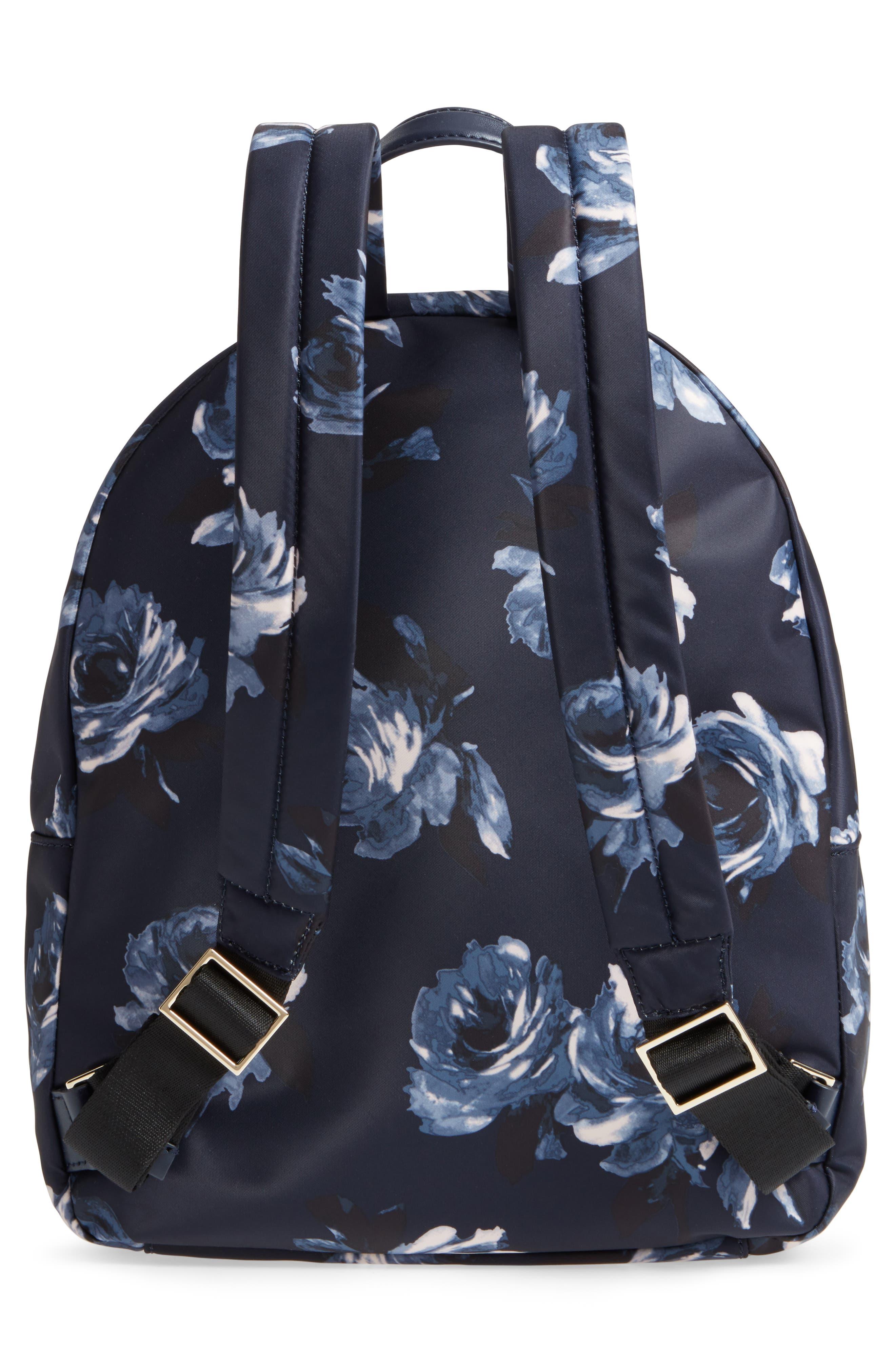 watson lane night rose hartley nylon backpack,                             Alternate thumbnail 3, color,                             Night Rose