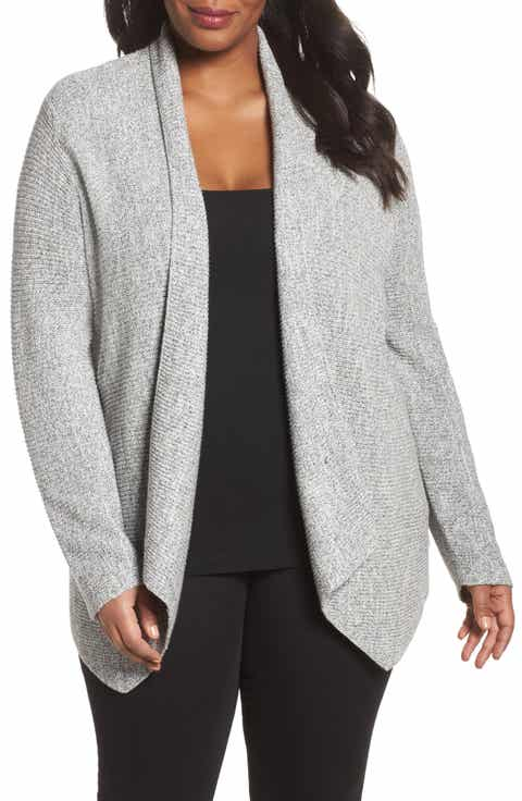 NIC+ZOE Pixel Pop Cardigan (Plus Size)