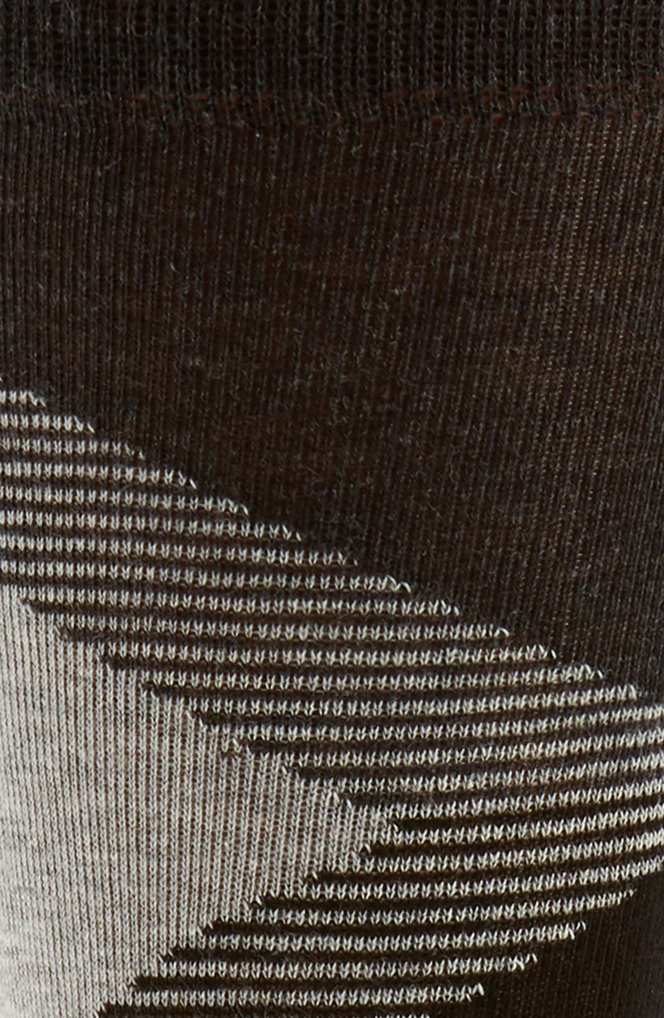 Big Diamond Socks,                             Alternate thumbnail 2, color,                             Black