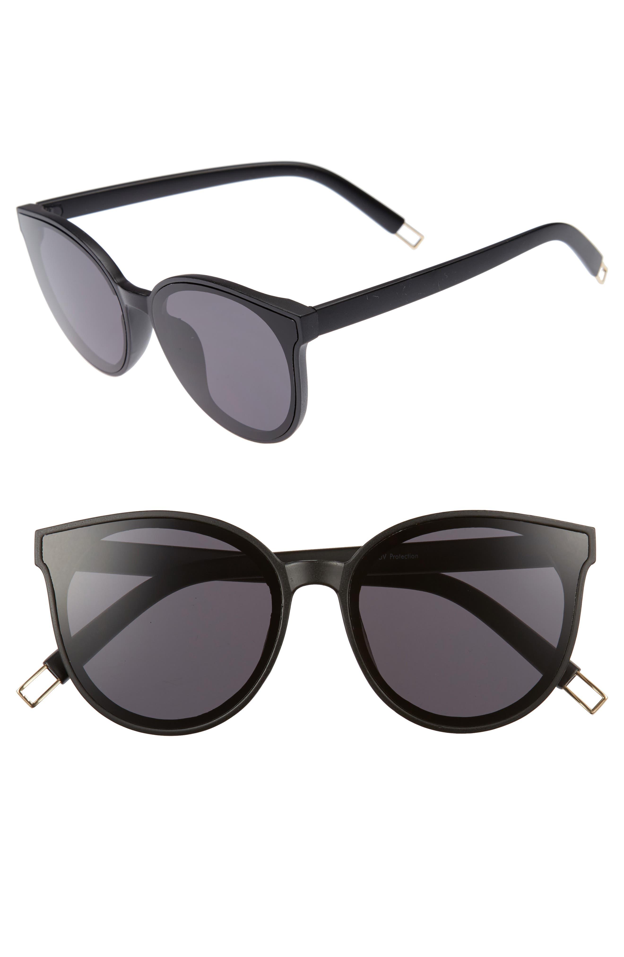 BP. 59mm Metal Tip Round Sunglasses